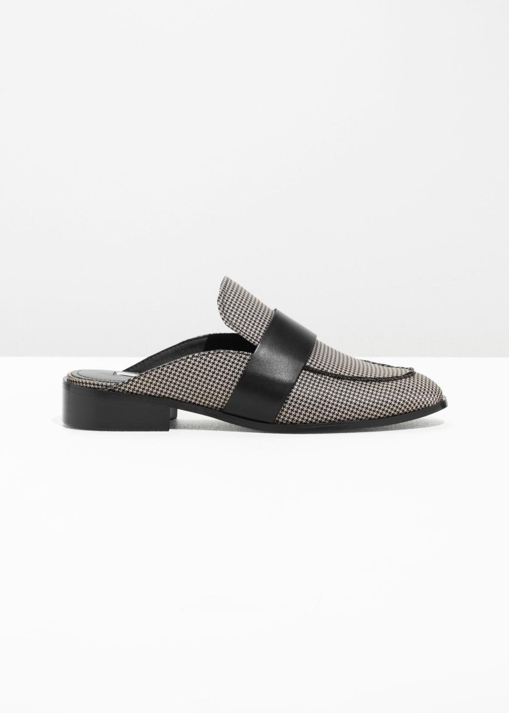 fbd43a04a2c   Other Stories Slip-on Loafers in Gray - Lyst