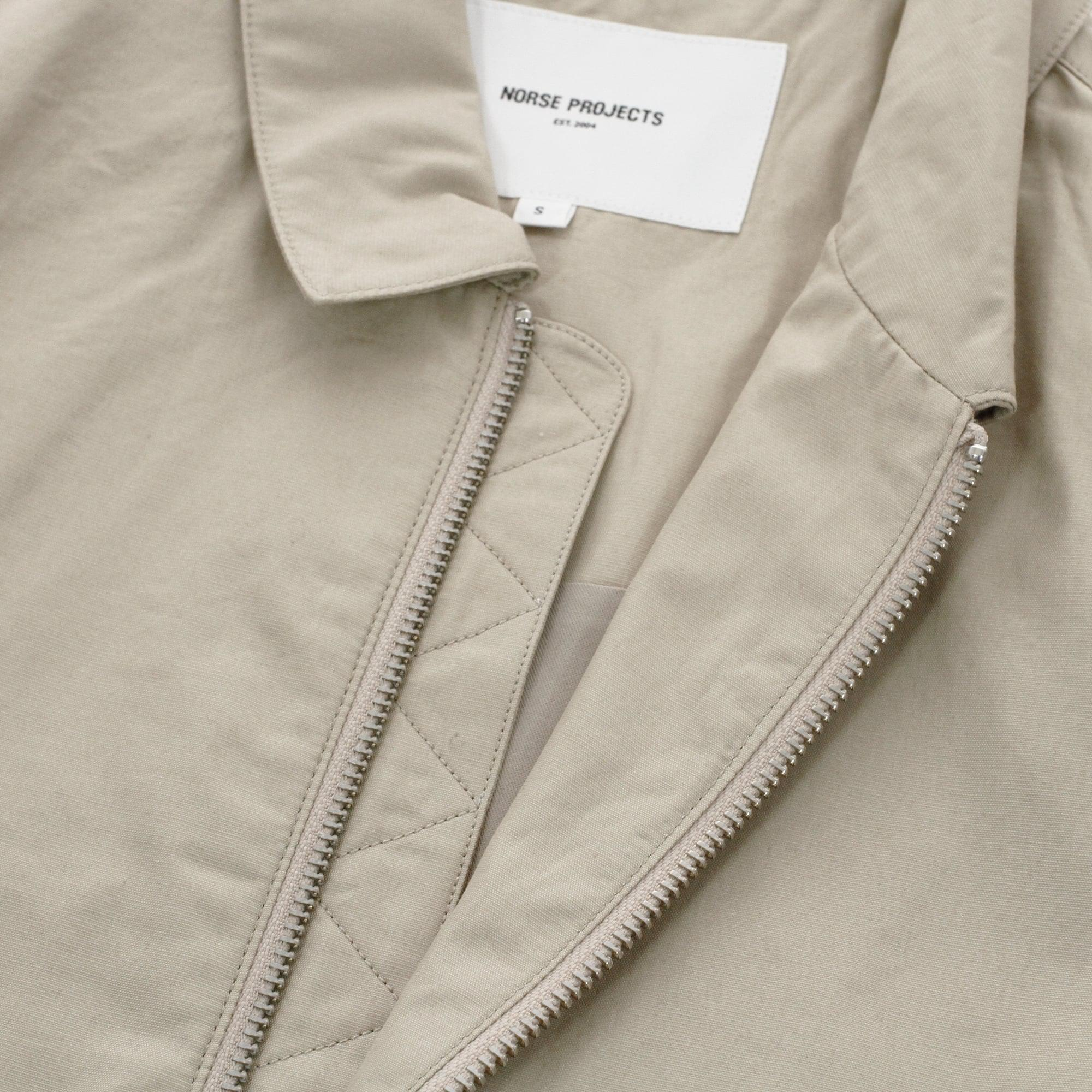 69f527b5aa6 Lyst - Norse Projects Trygve Cotton Panama Khaki Jacket in Natural ...