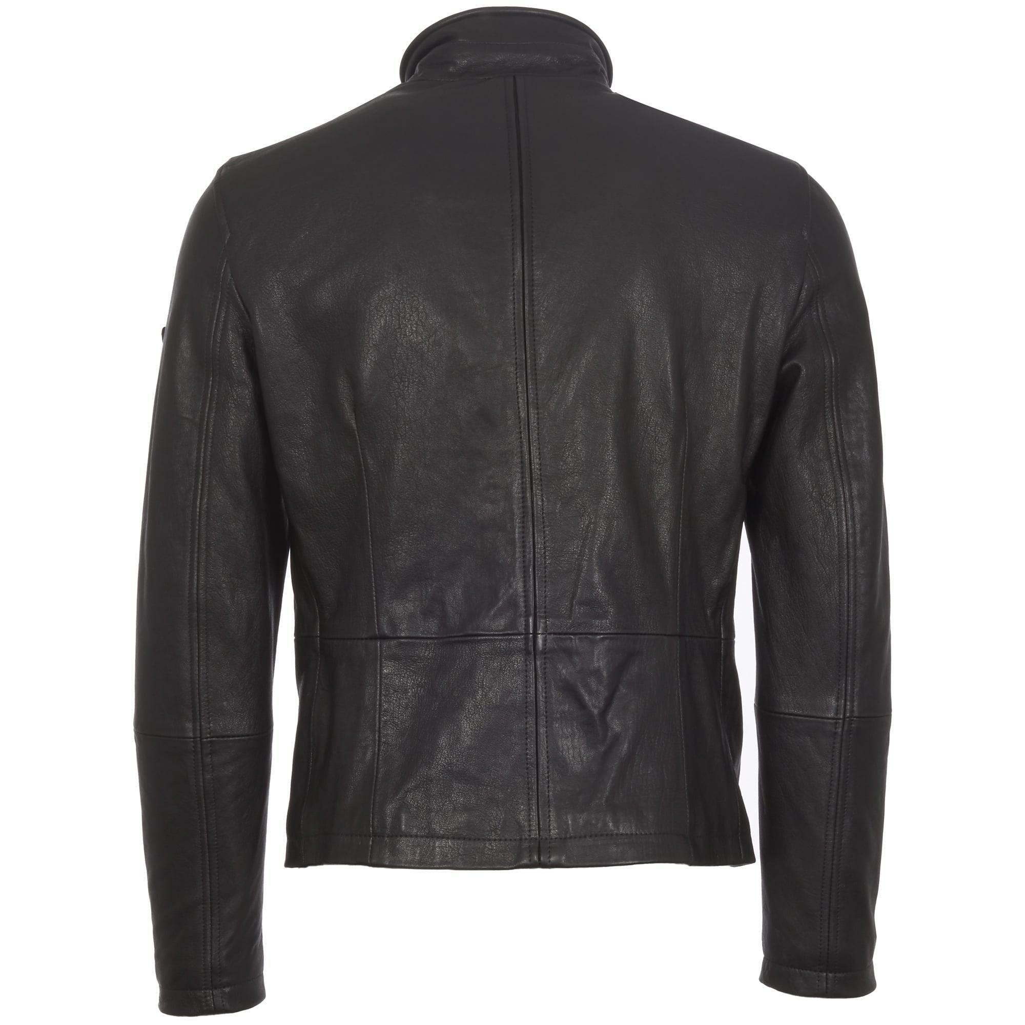 Matchless Black Craig Nappa Leather Blousen Jacket for Men