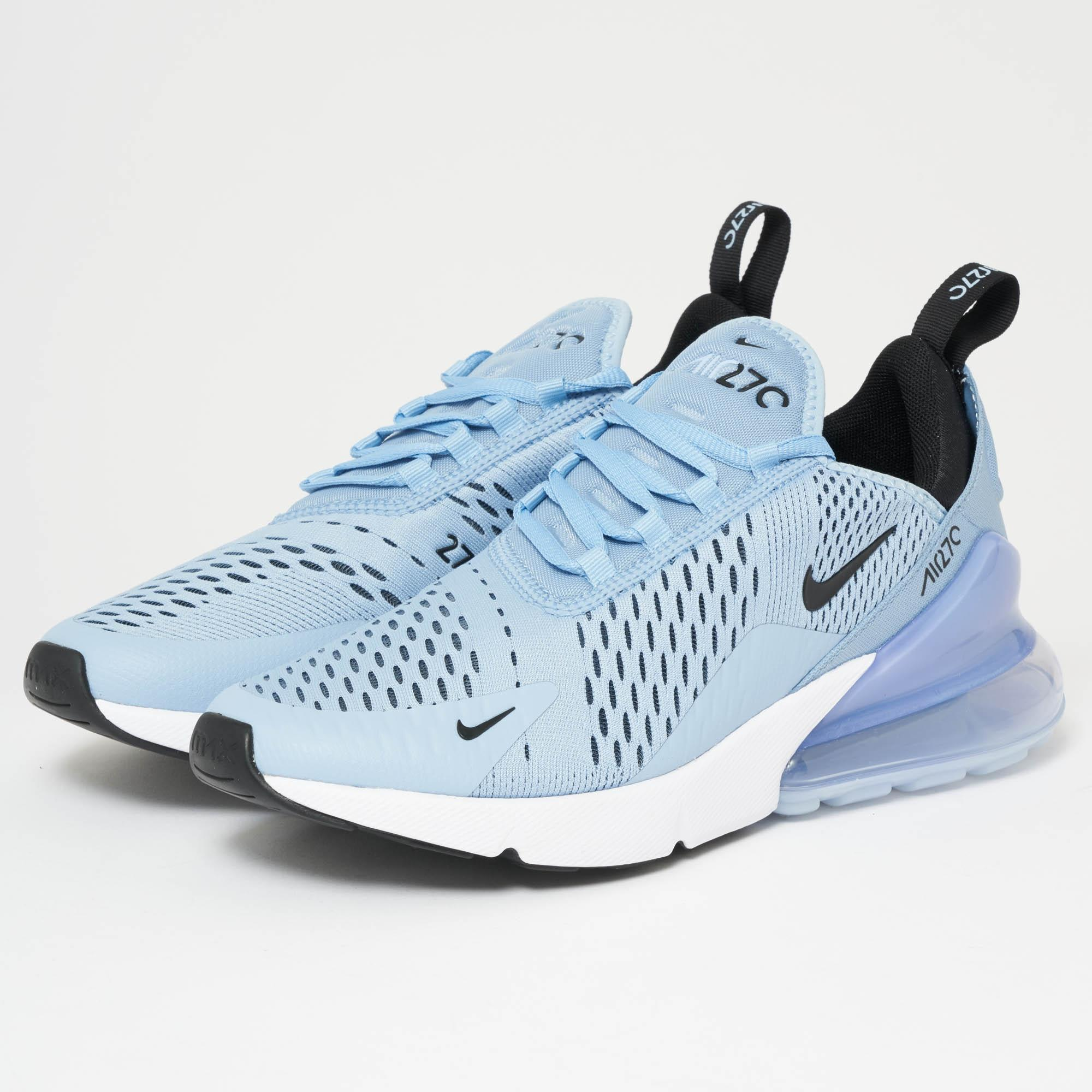 separation shoes 4f452 f558a Men's Air Max 270 - Leche Blue, Black & White