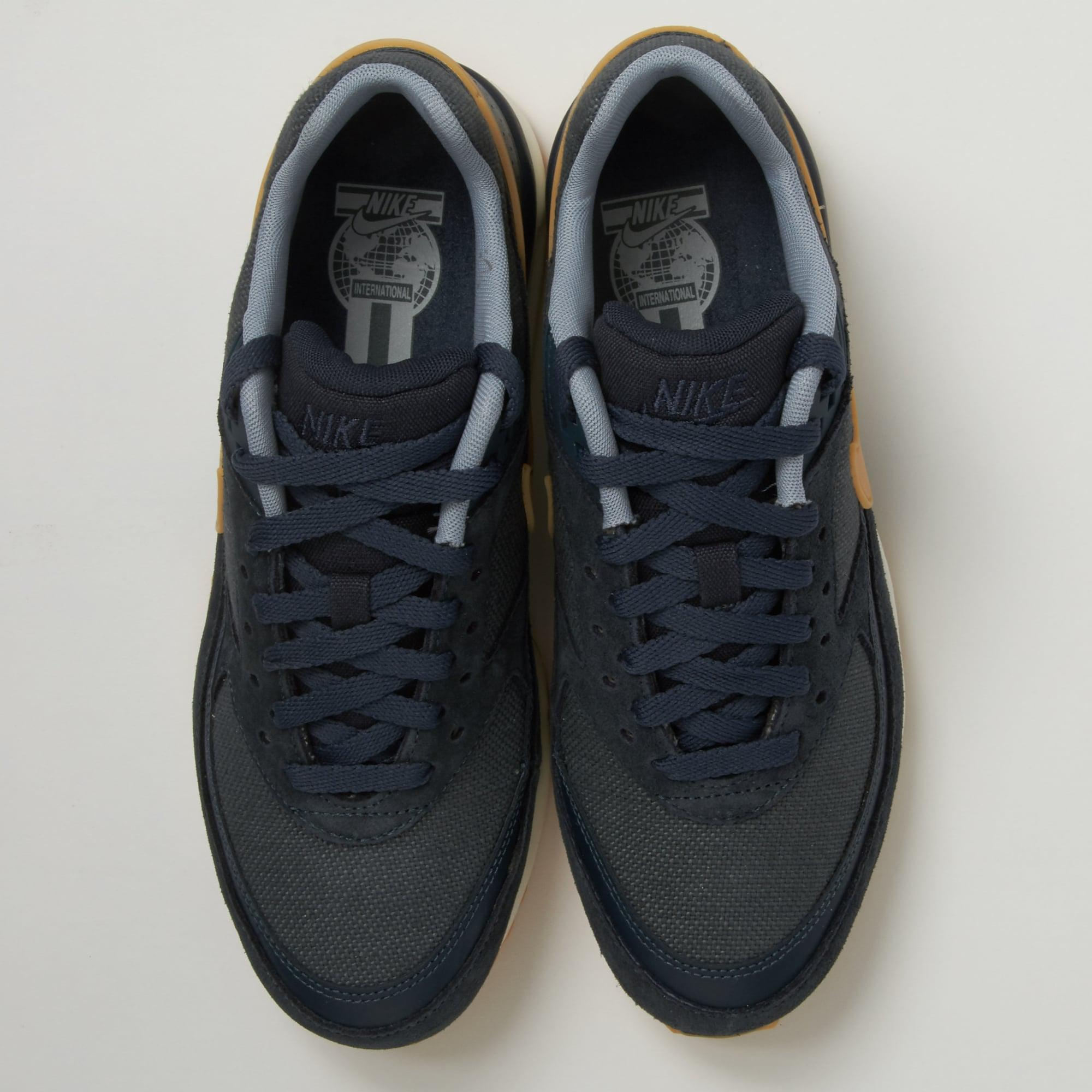 Nike Suede Air Max Bw Armory Blue Shoe for Men