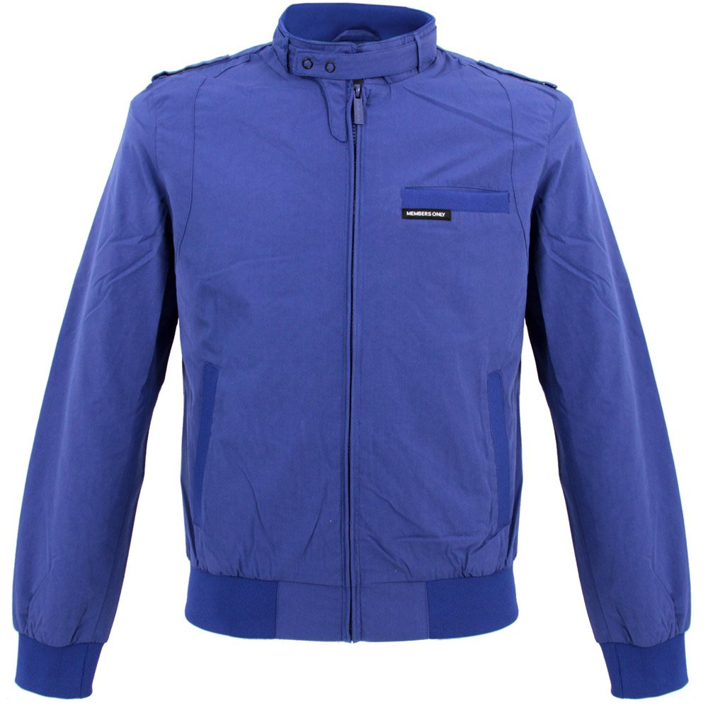 Members only Iconic Racer Jacket Royal Blue in Blue for ...