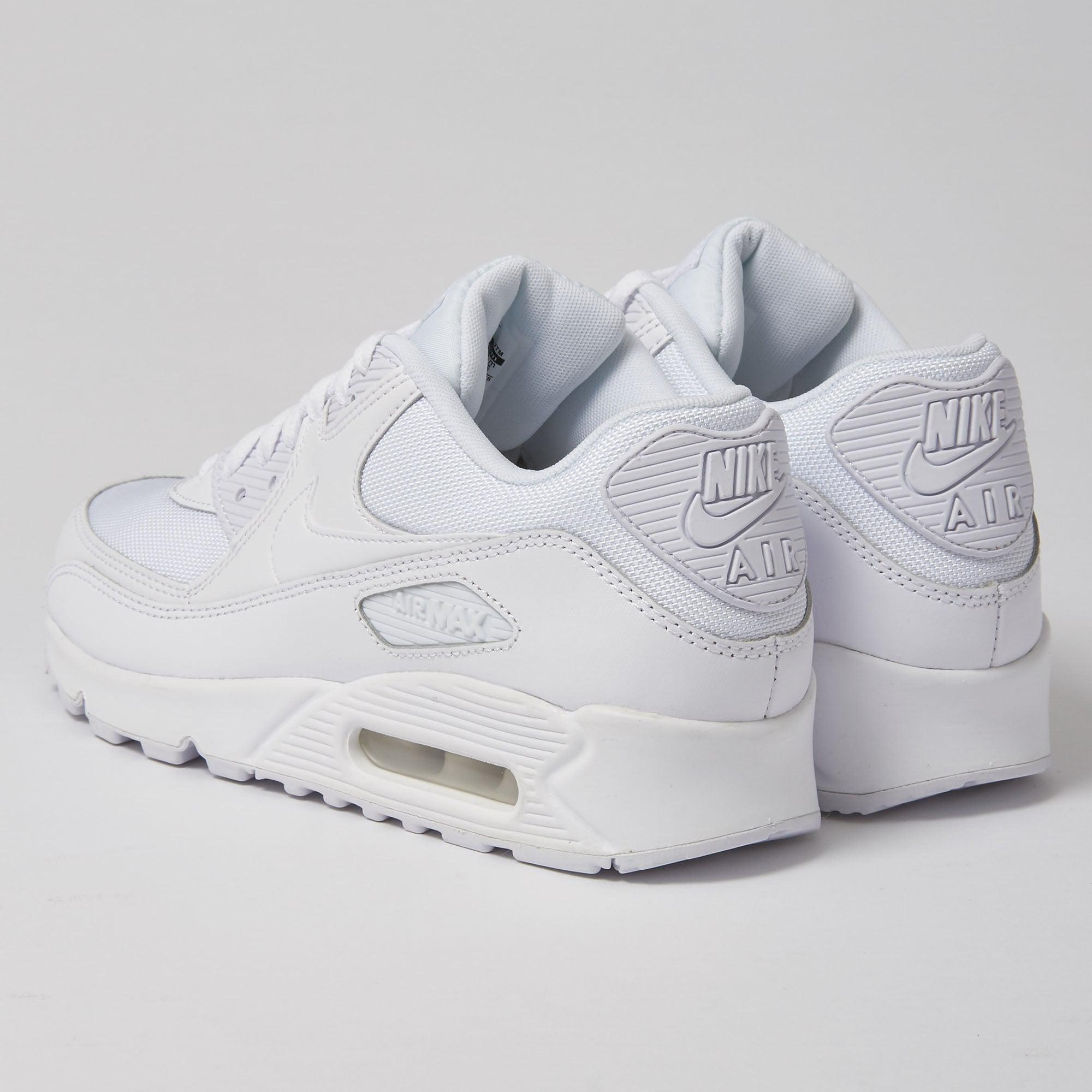 Nike Leather Air Max 90 Essential - White for Men