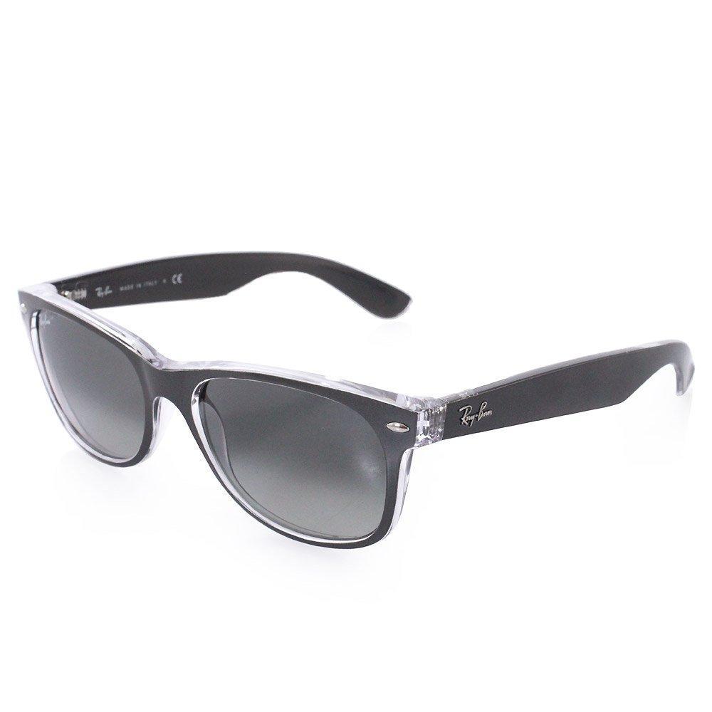 Ray-ban New Wayfarer Metal Effect Gunmetal Sunglasses in ...