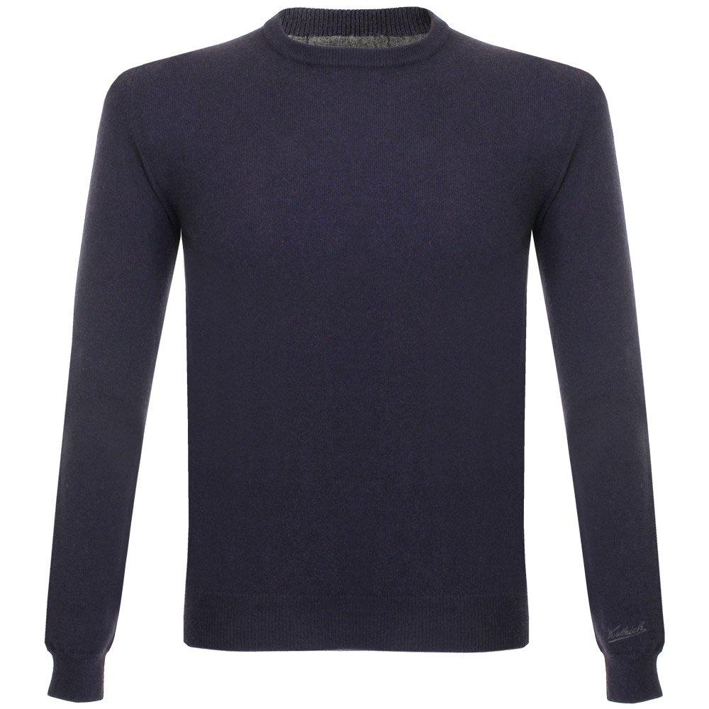Woolrich super geelong crew neck knitted dark navy jumper
