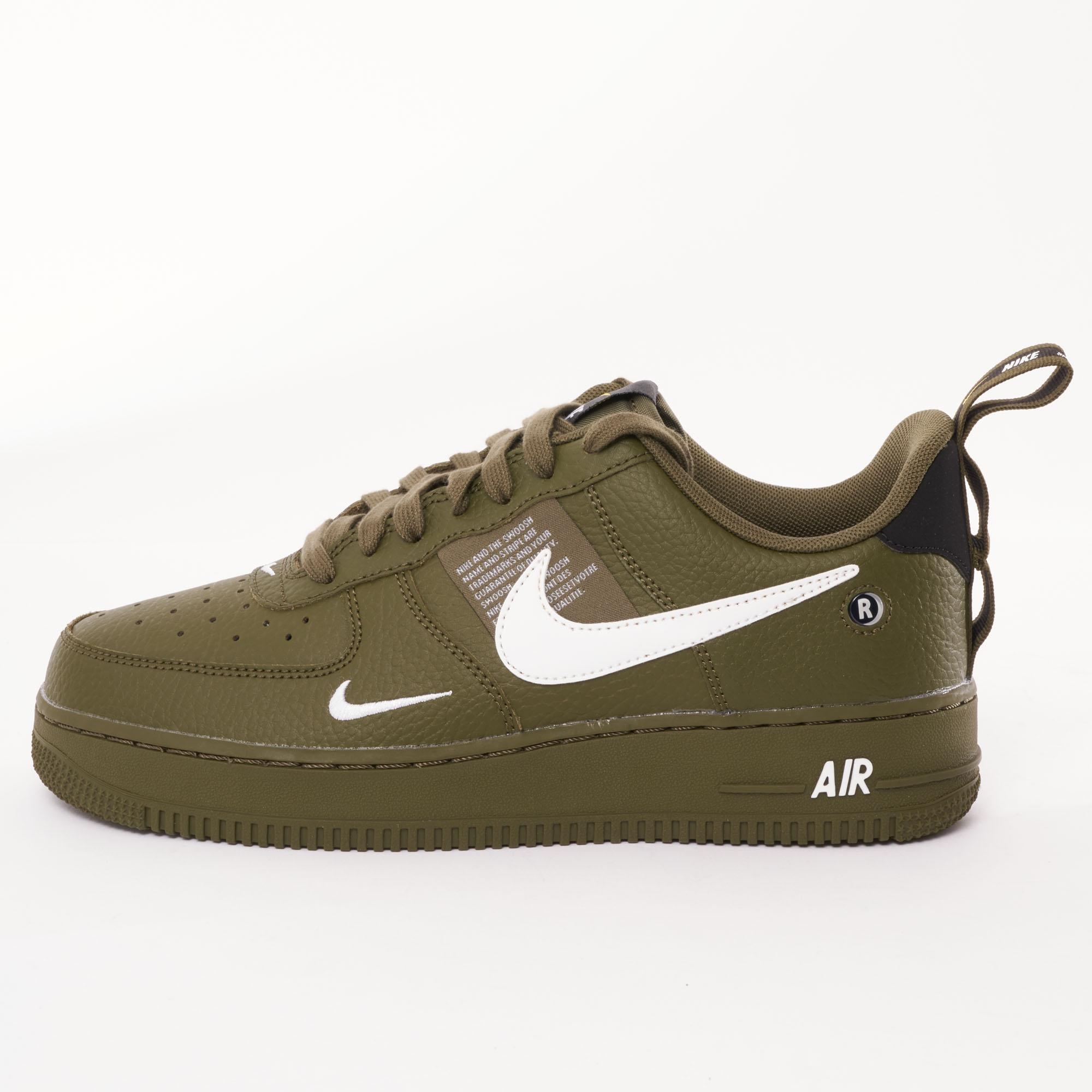ad6de13fbdd Lyst - Nike Air Force 1 Utility Trainers in Green for Men men s nike air  force