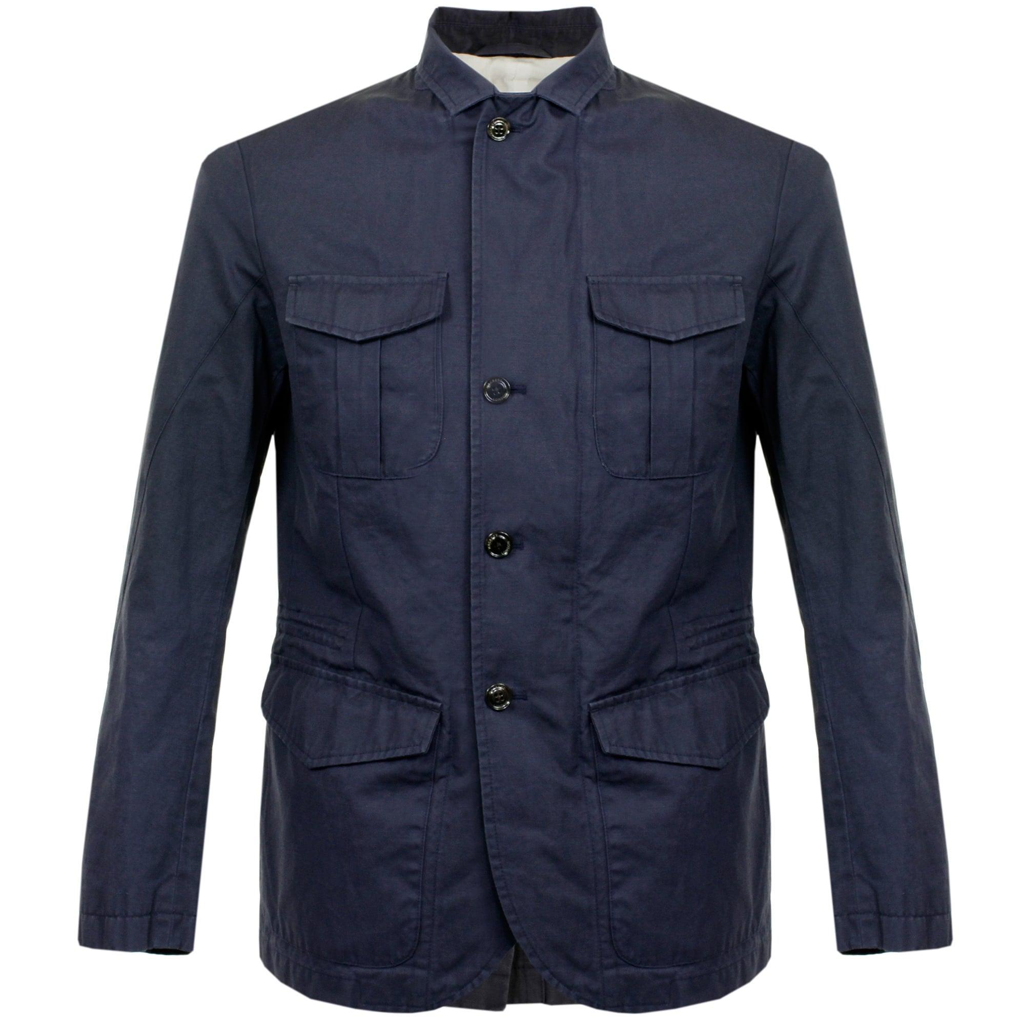 Hackett Hackett Safari Navy Blazer Jacket In Blue For Men