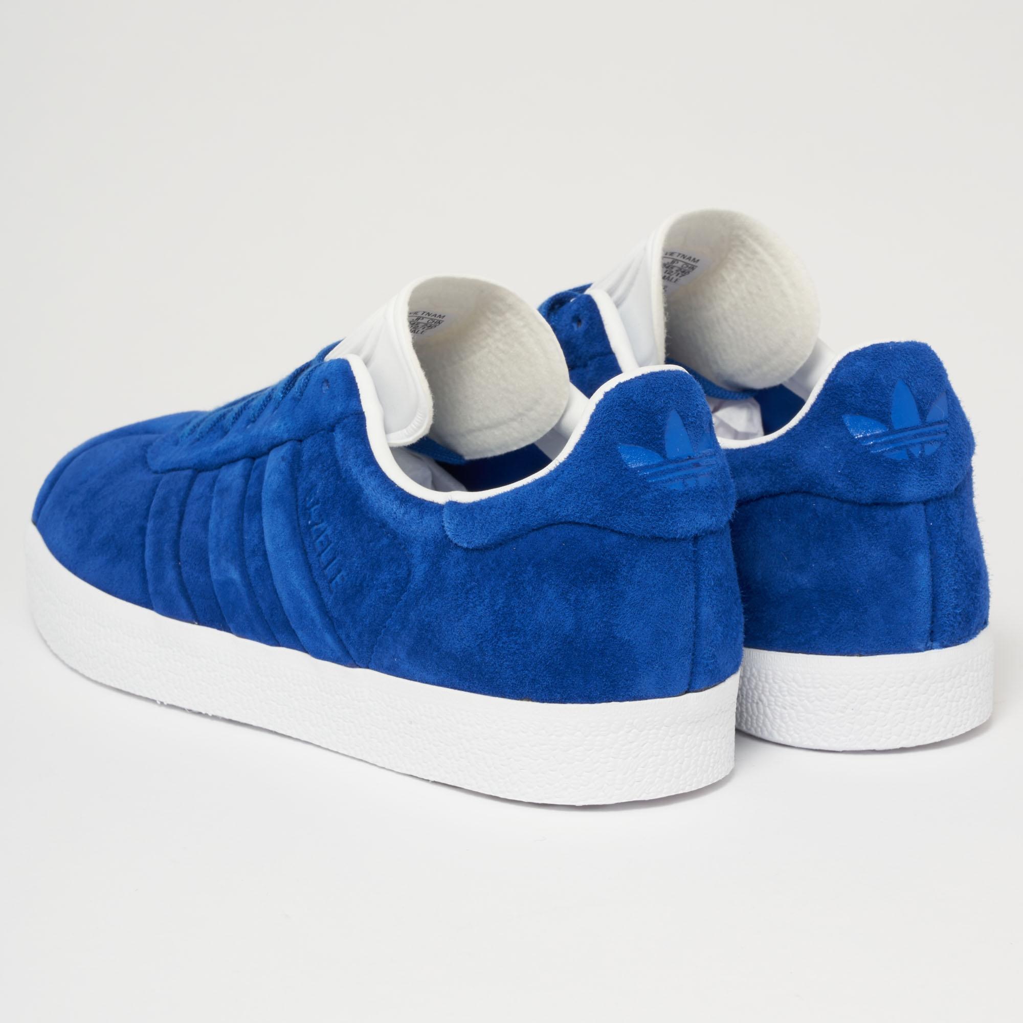 GAZELLE STITCH AND TURN - Sneaker low - collegiate royal/footwear white Spielraum Besten Billig Verkauf Footlocker Spielraum Fälschung Verkauf Für Billig aXPwf7P