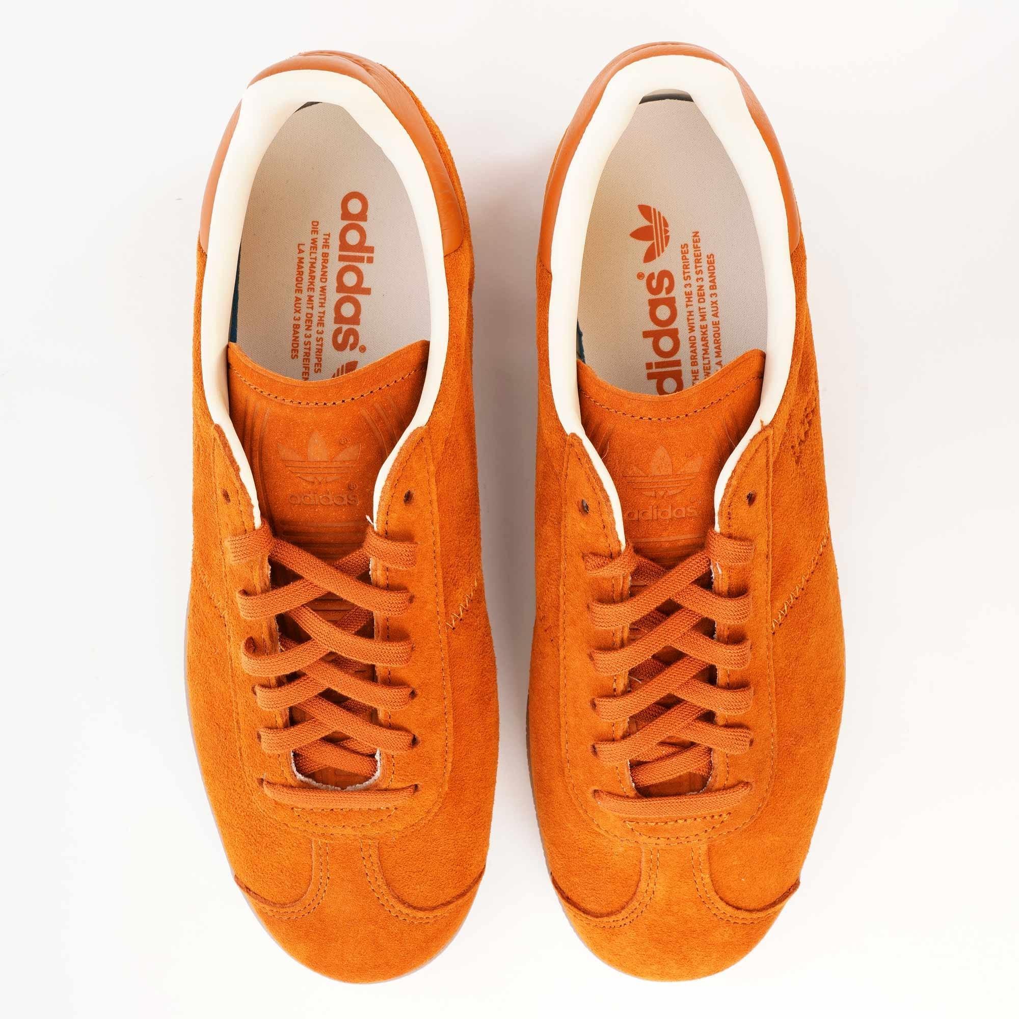 adidas Originals Gazelle Ecru TintChalk WhiteWhite Nubuck