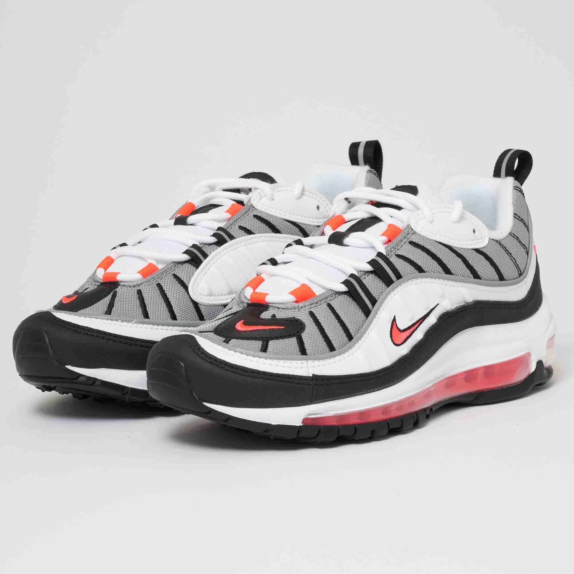 info for e2d05 9eda7 Nike Women's Air Max 98 - Solar Red
