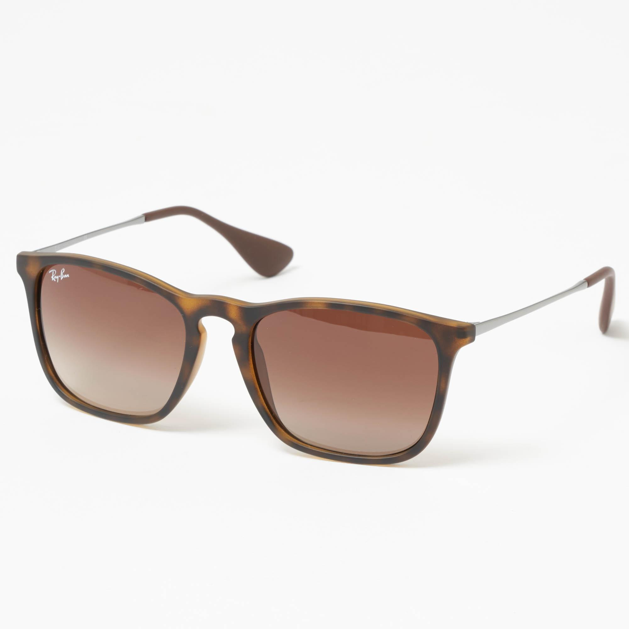 cdab105466 Ray-Ban Tortoise Chris Sunglasses - Brown Gradient Lenses for Men - Lyst