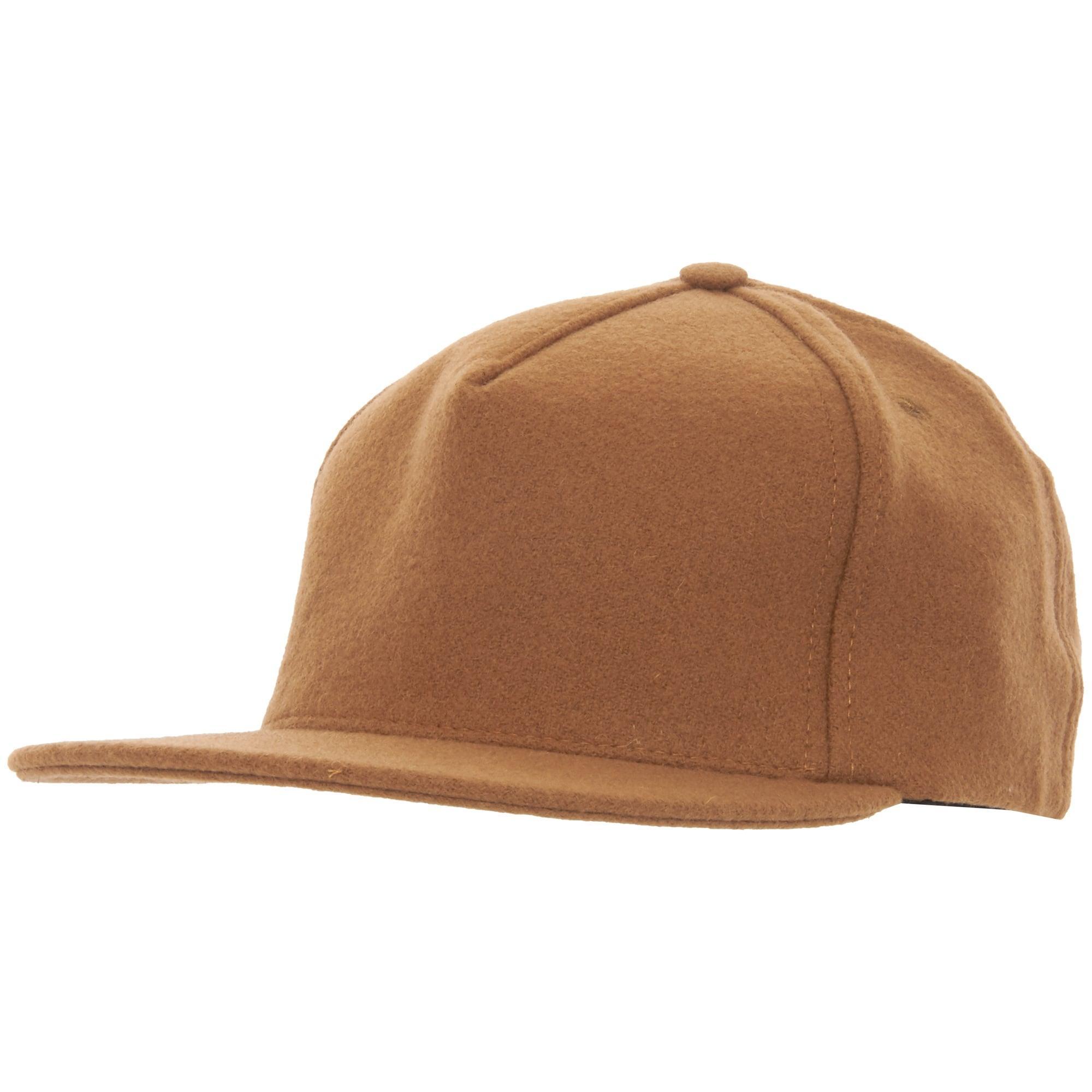 b2092dab9b9 Lyst - Universal Works Melton Baseball Hat in Brown for Men
