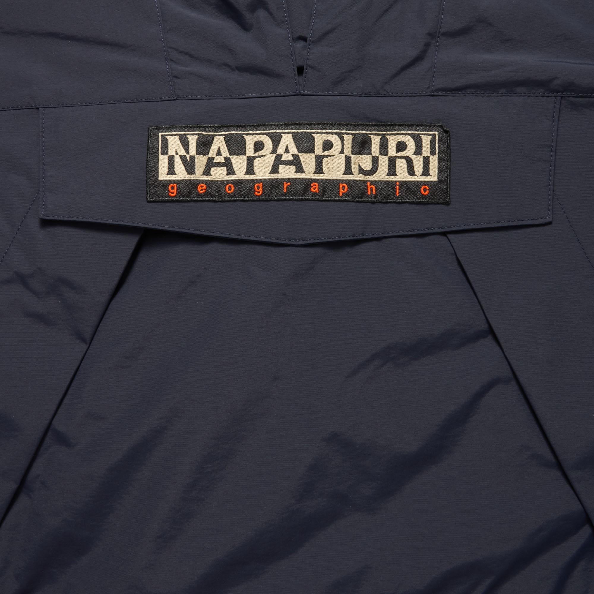 Napapijri Fleece Skidoo Tribe Blue Jacket N0yhu7176 for Men