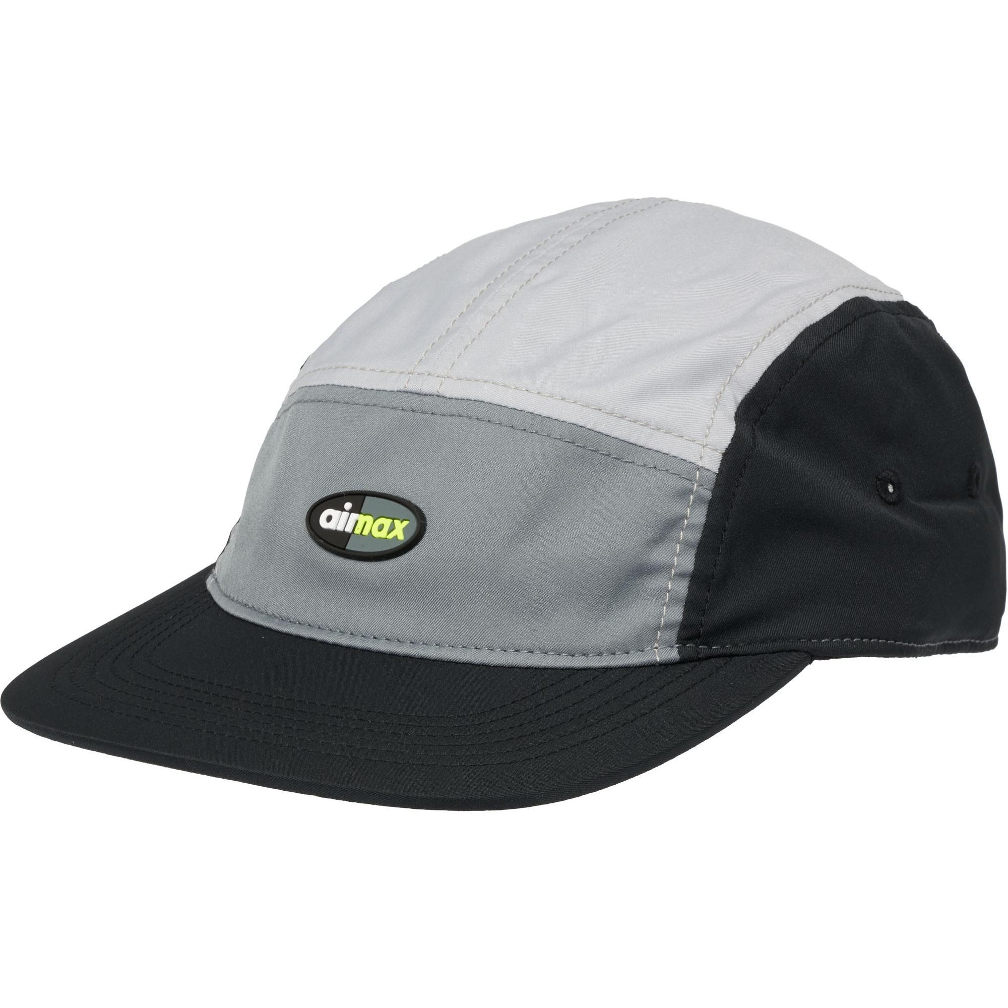 07052fcf ... usa lyst nike air max aw84 cap black grey in gray for men 02c94 ec121