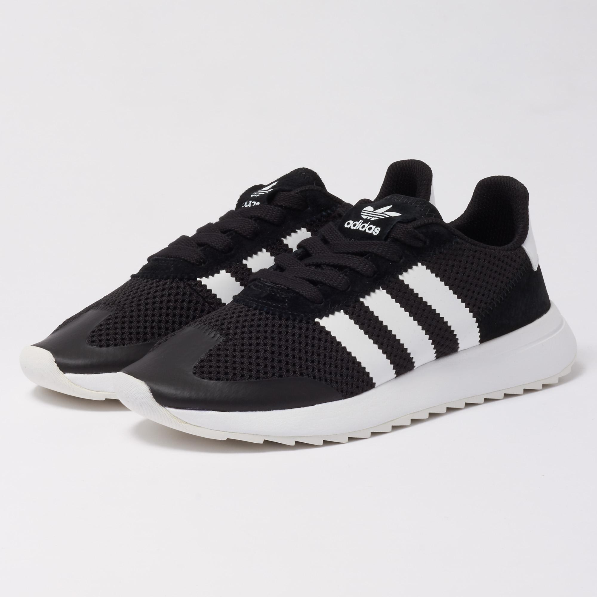 best sneakers 044a3 b629f Adidas Originals Wmns Flb Trainers - Core Black in Black for