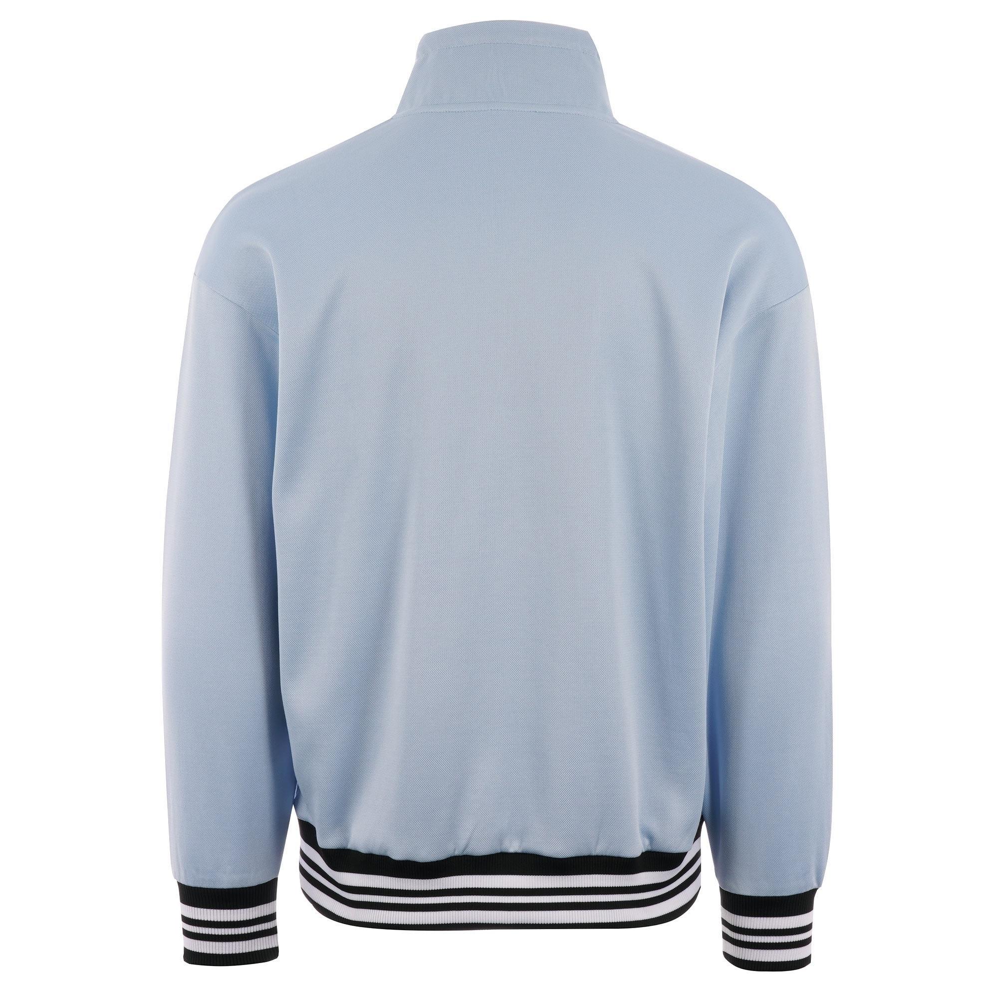 ae6a0e77f015 Fila Vintage - Cole Half Zip Sweatshirt - Cashmere Blue for Men - Lyst.  View fullscreen