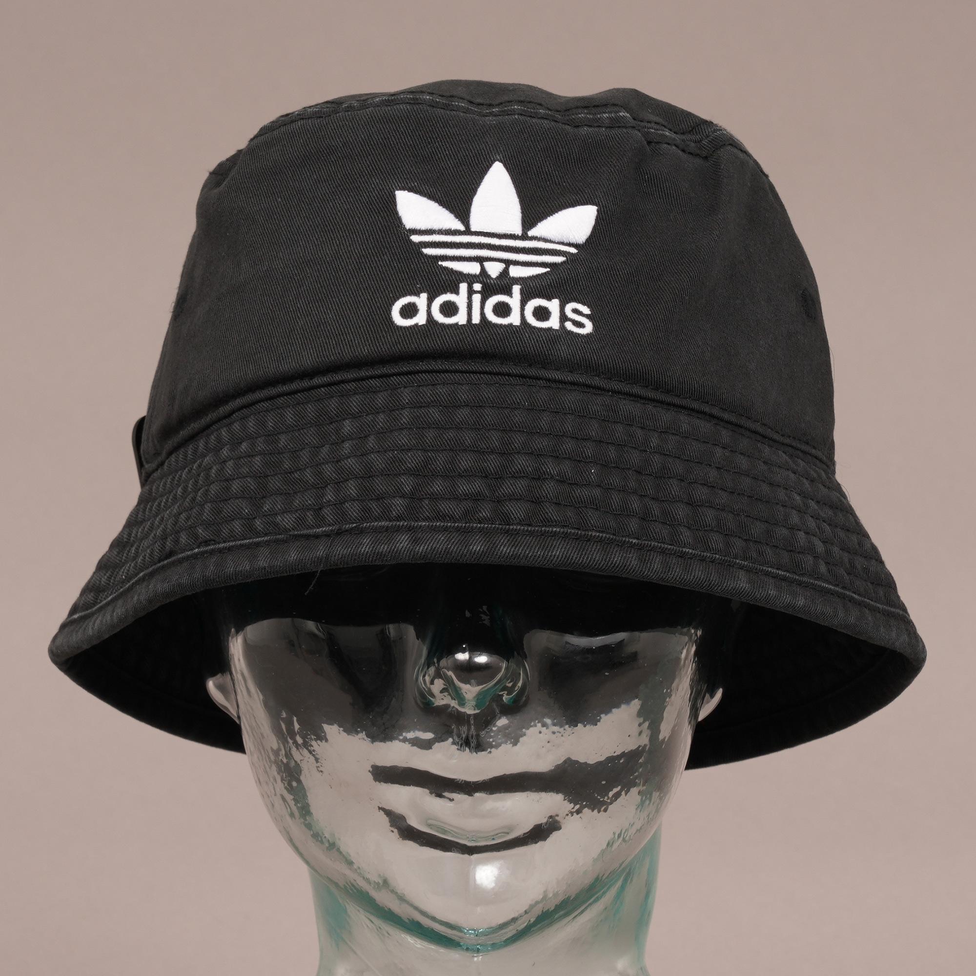 49c26ad6 ... italy adidas originals trefoil bucket hat black for men lyst. view  fullscreen 2432a 50c5e