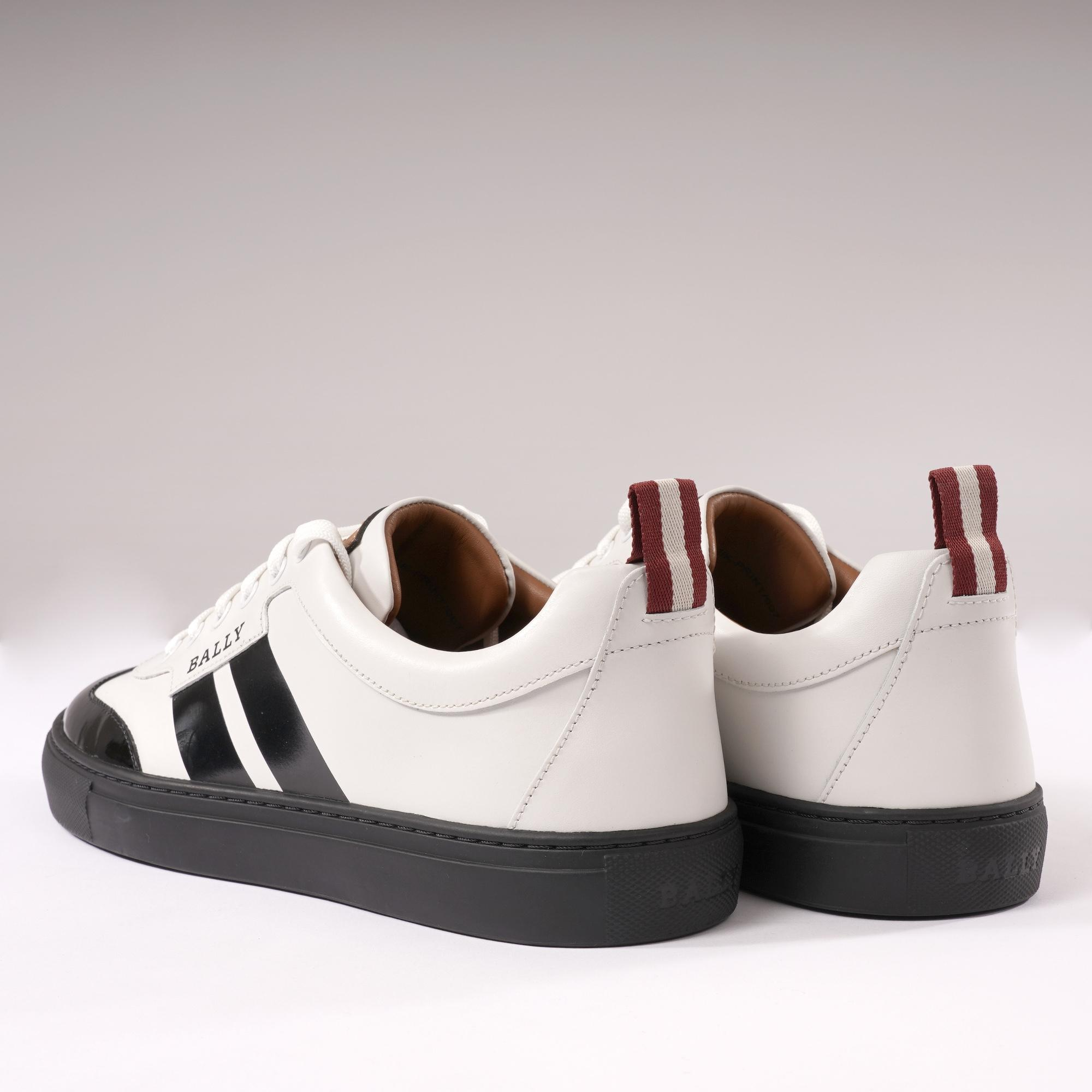 Bally Leather Hendrik Trainers - White