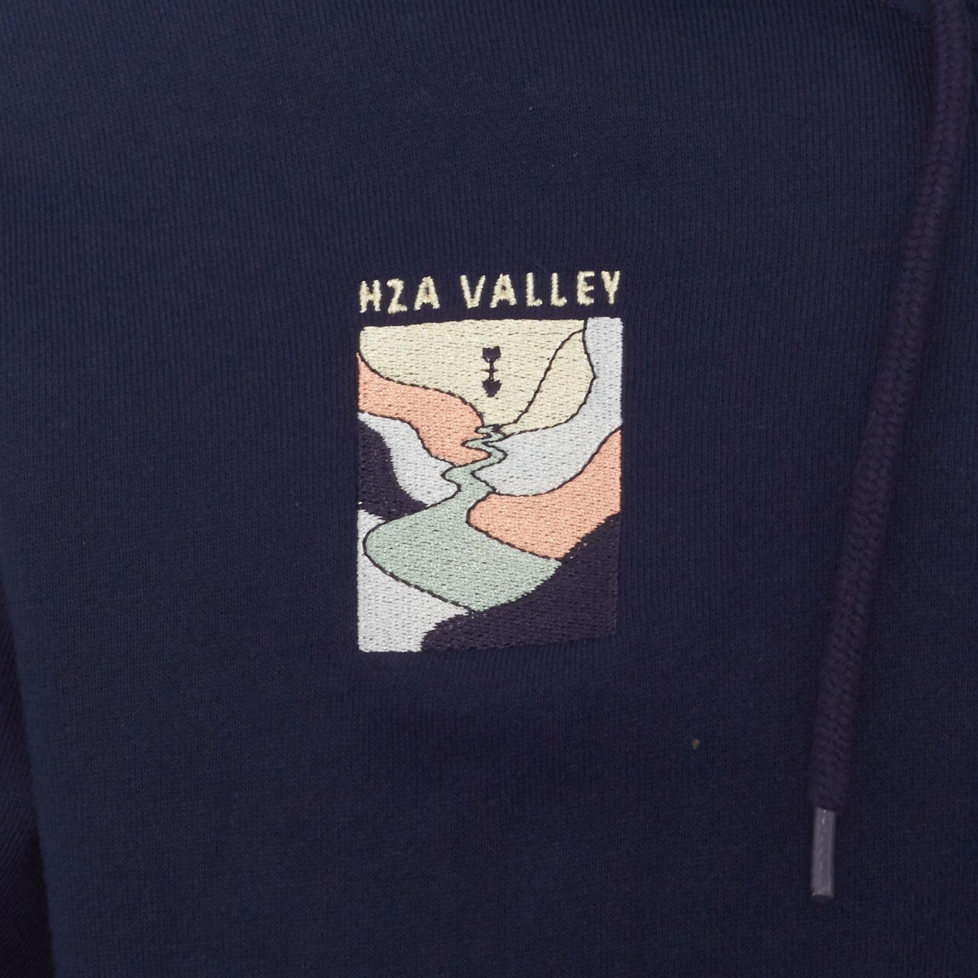 adidas Originals Navy Hza Valley Full Zip Hoodie in Blue for Men