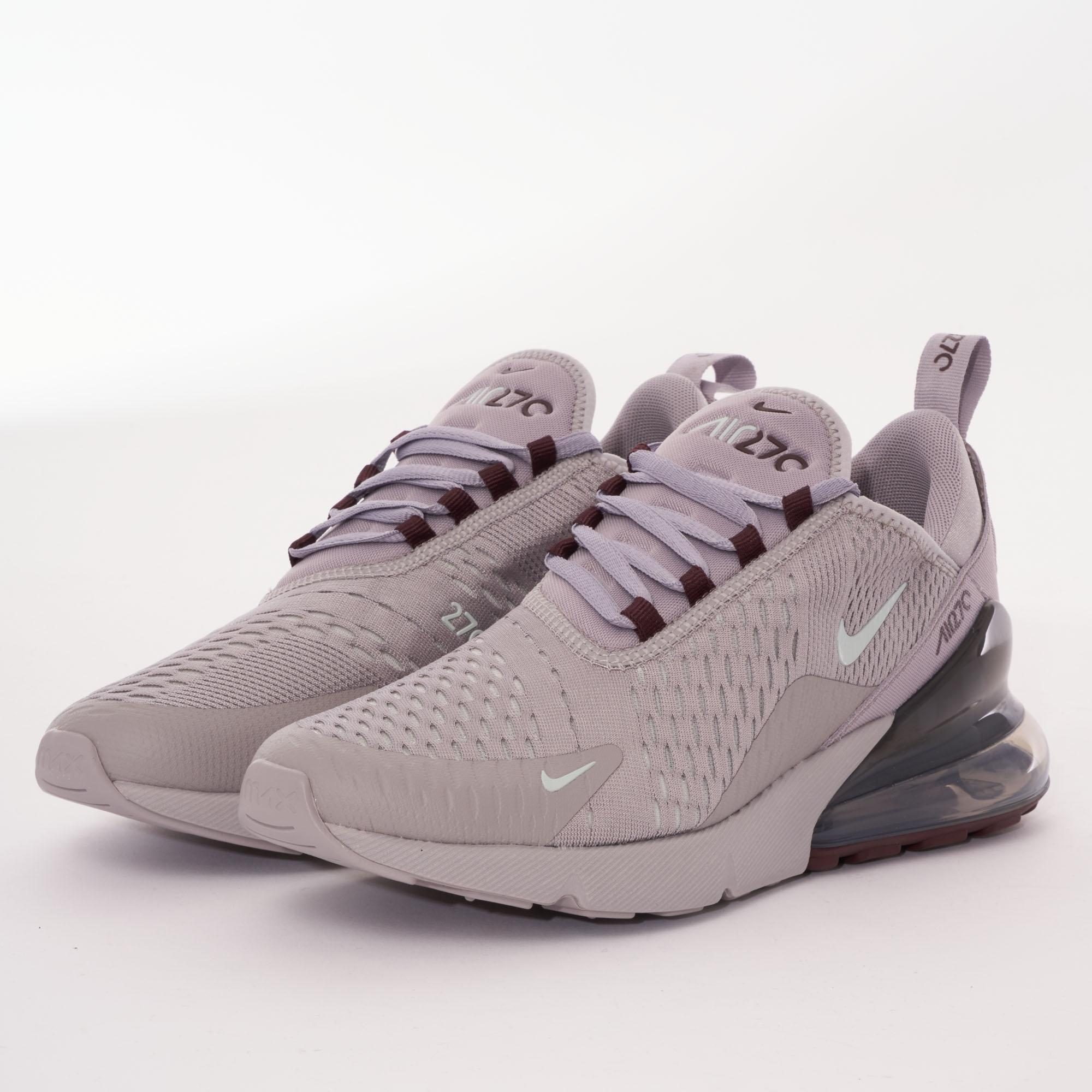 sports shoes 08361 4736b Nike Gray Air Max 270 - Atmosphere Grey & Light Silver for men
