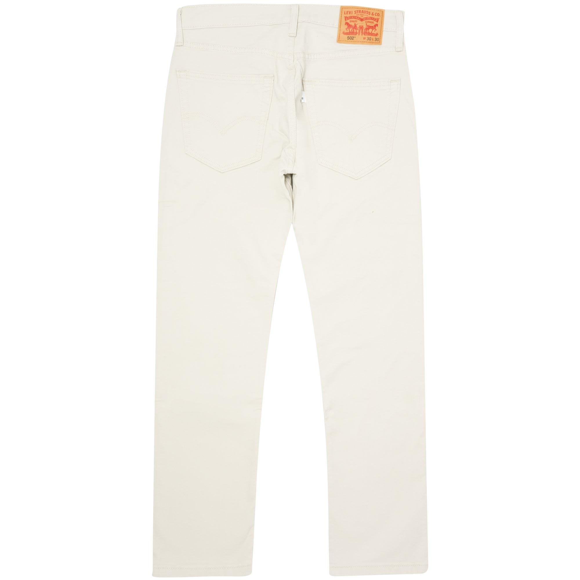 Levi's 502tm Moon Denim Jeans - Regular Tapered Fit for Men