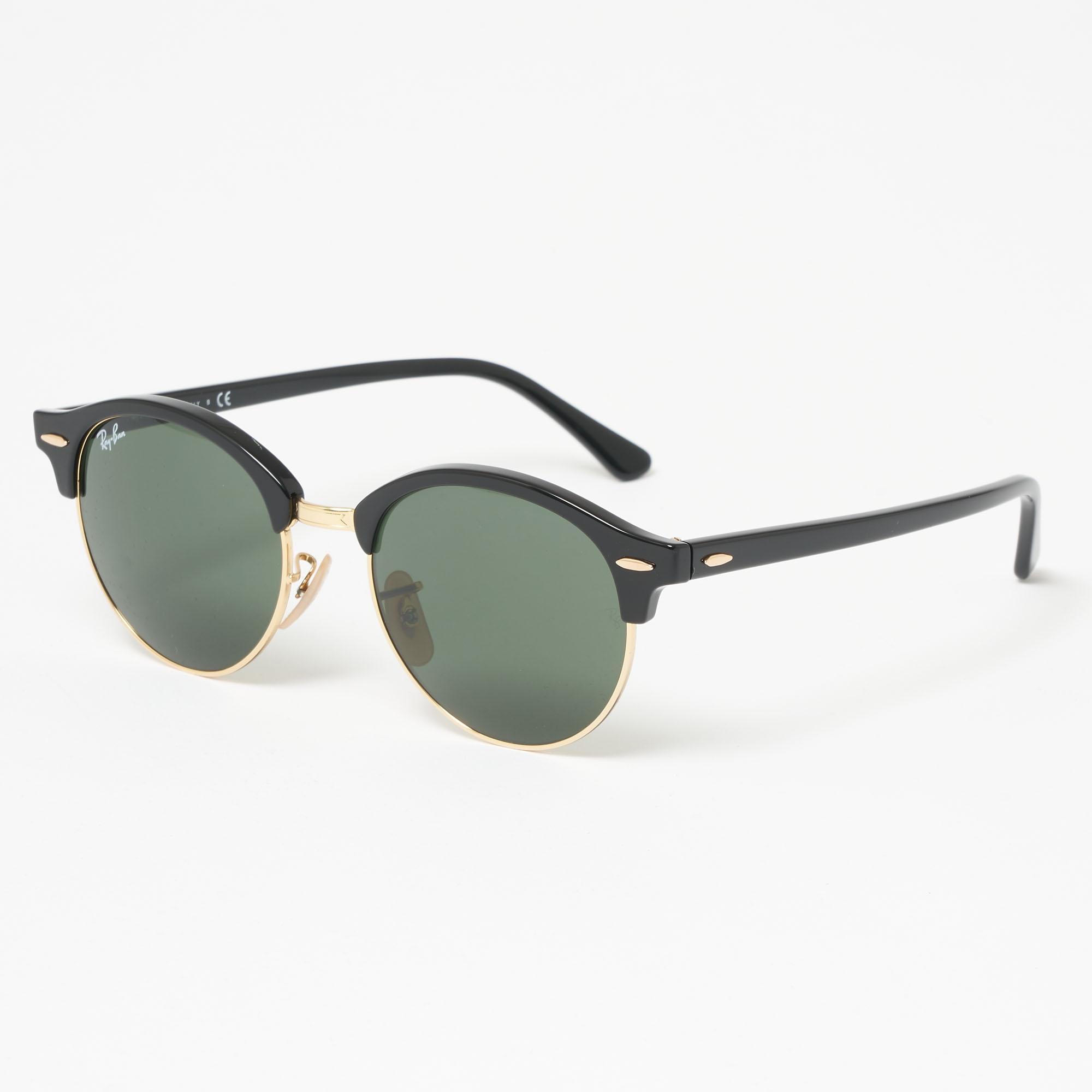 59f26bdf98 Ray-Ban Black Classic Clubmaster Sunglasses - Classic G15 Lenses in ...