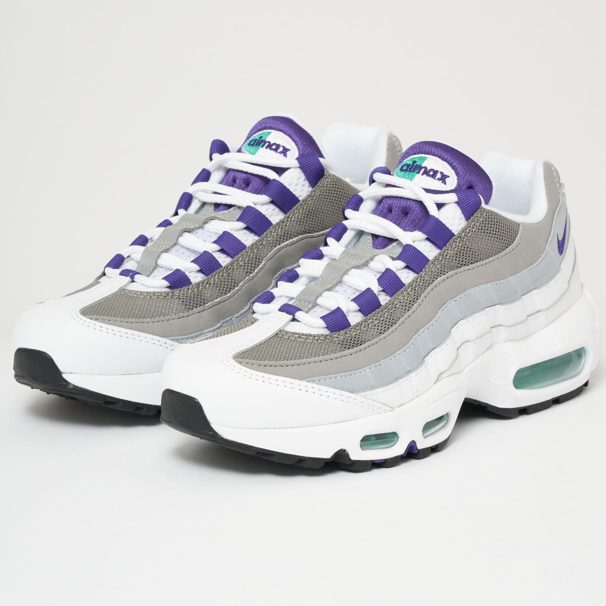 factory price 5520c 8aeb7 Nike Air Max 95 W - White & Purple
