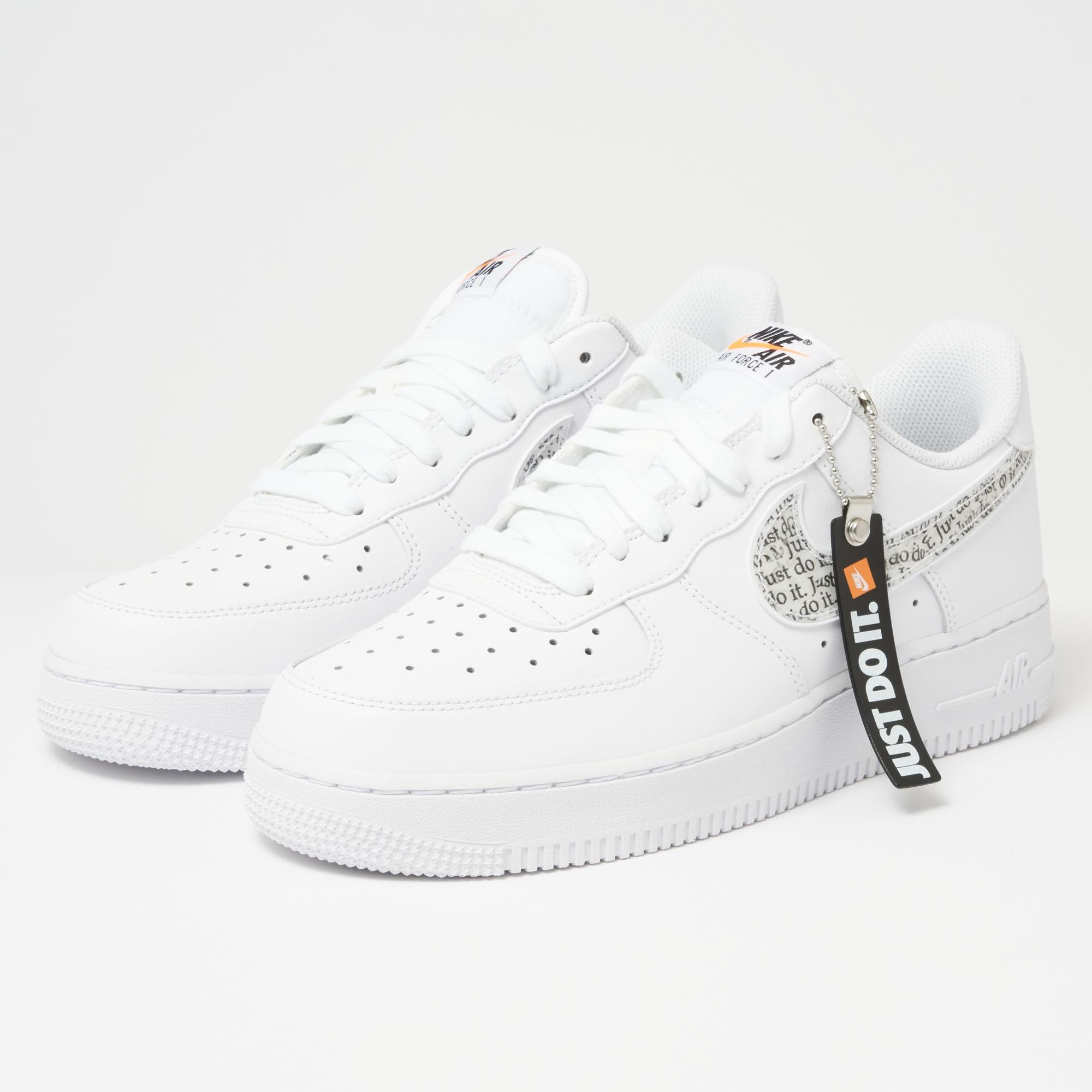 c6615c881220 Lyst - Nike Air Force 1  07 Lv8  just Do It  Lntc - White