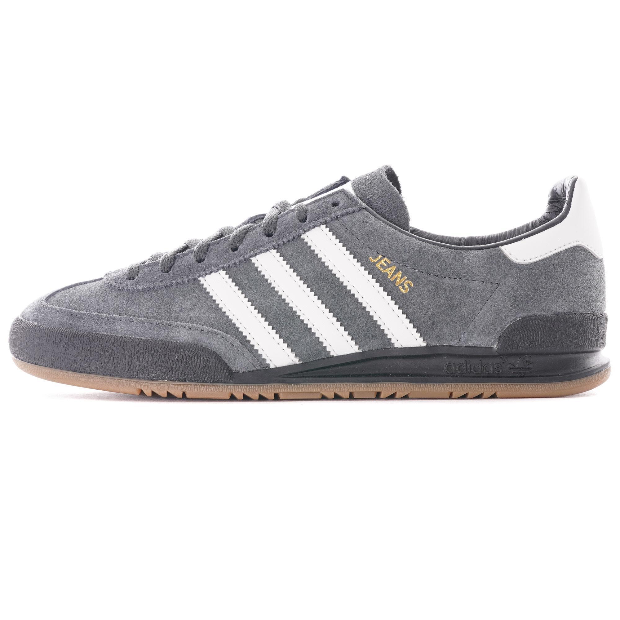 adidas Originals Denim Jeans Trainers in Grey (Grey) for Men - Lyst