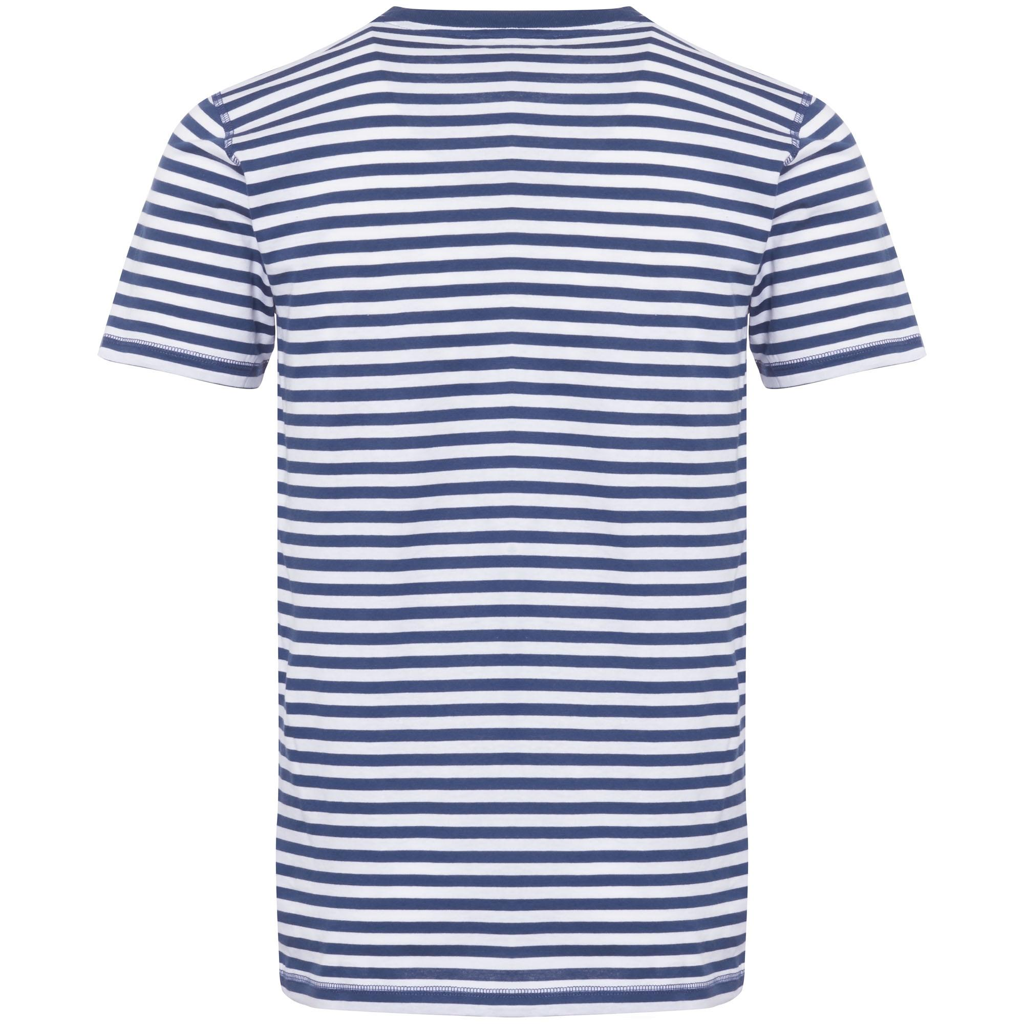 Norse Projects Anodized Blue Niels Classic Stripe for Men