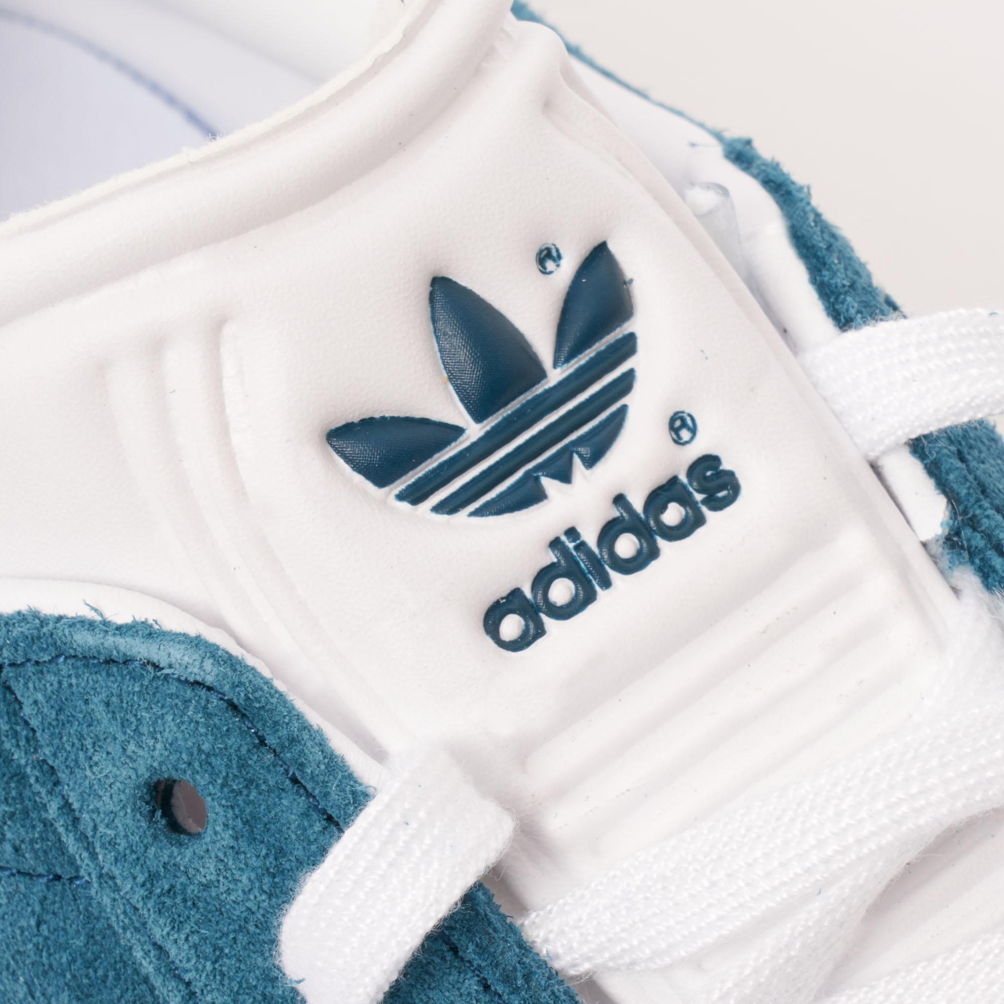 hélice Modernización Negociar  adidas Originals Suede Gazelle - Petrol Night & Ftw White in Blue for Men -  Lyst