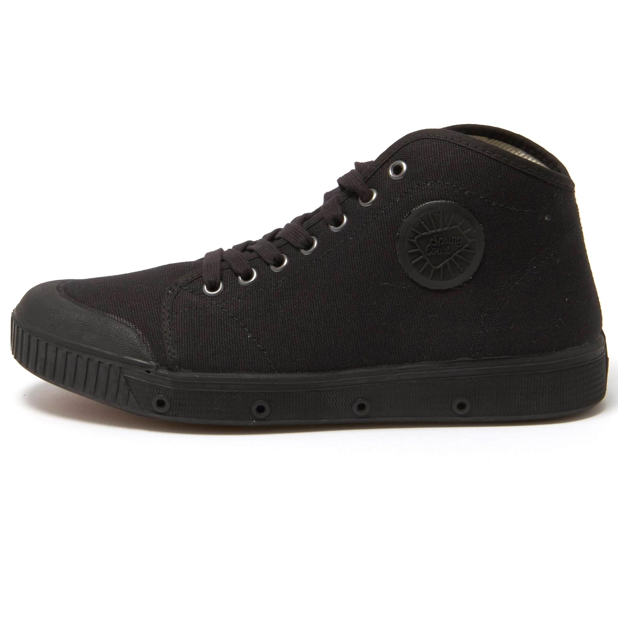 Spring Court B2 Canvas Shoe in Black