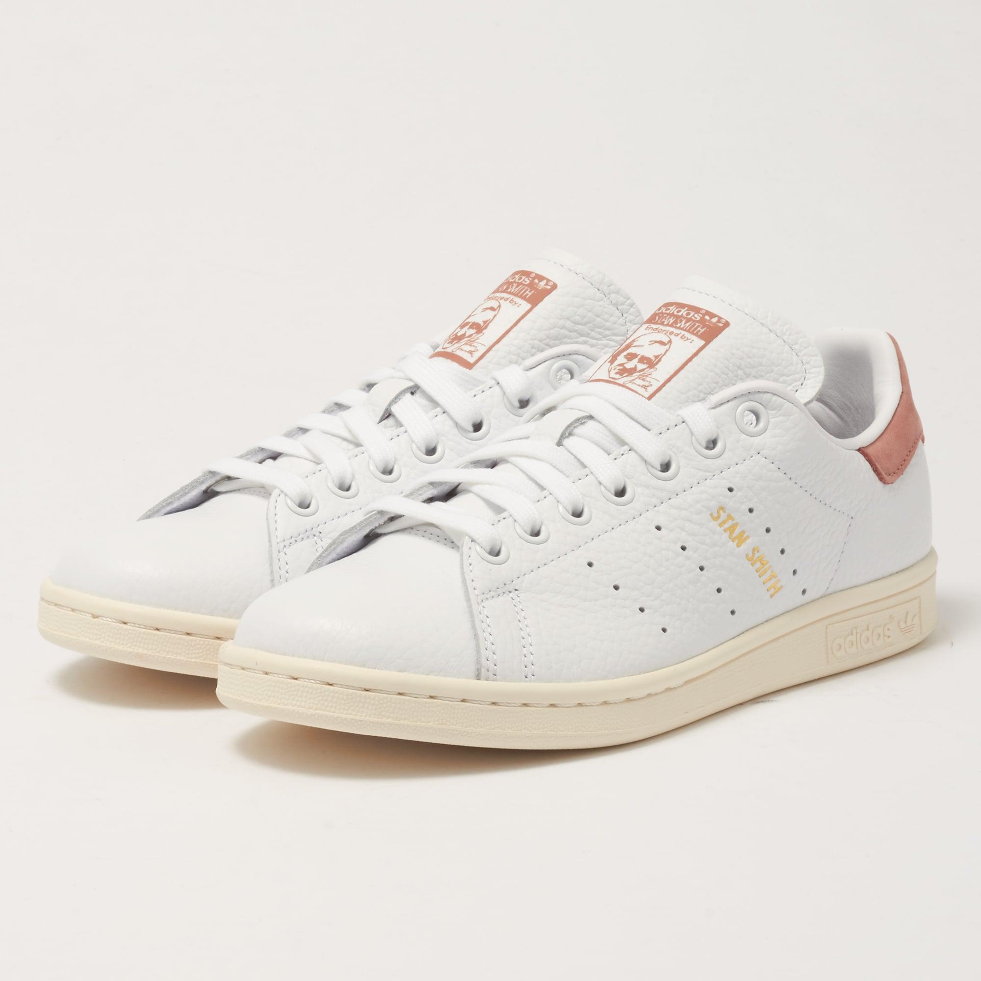 best service 45849 70019 Adidas Originals Stan Smith - White & Raw Pink