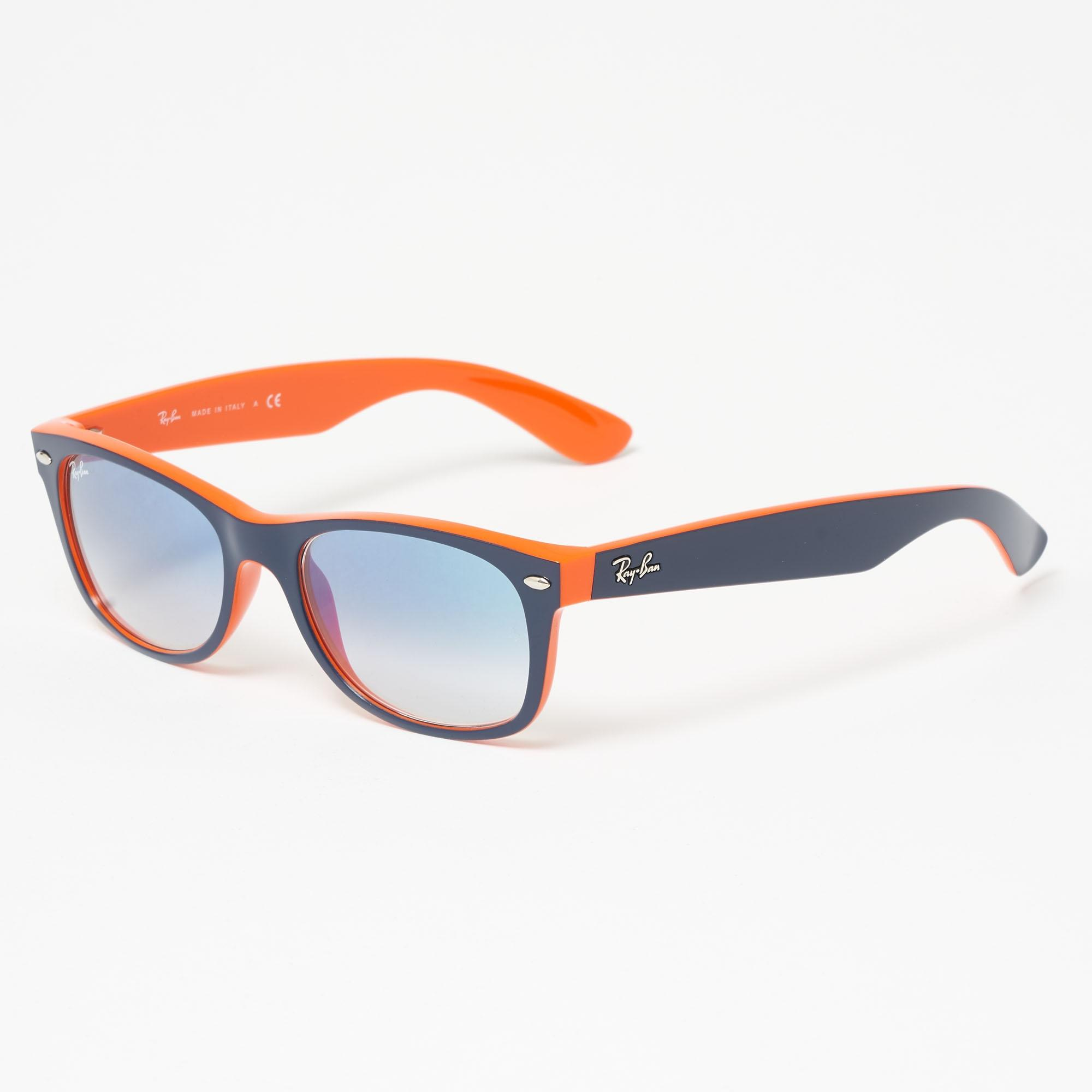 066d7703b9 ... wholesale lyst ray ban blue orange new wayfarer colour mix light blue  69a0f b1791
