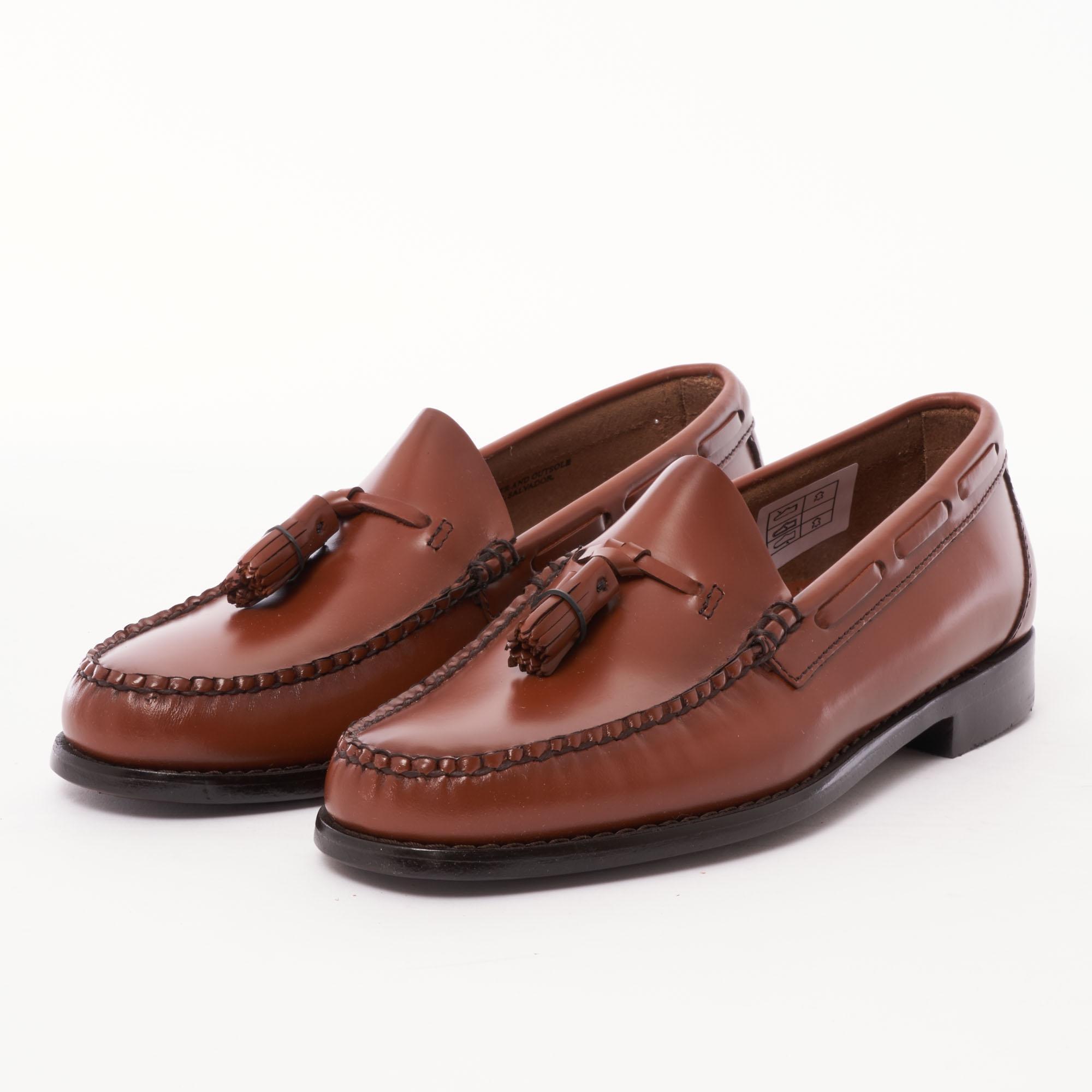 ecdc949115c Lyst - G.H.BASS Larkin Tassel Loafers - Mid Brown in Brown for Men