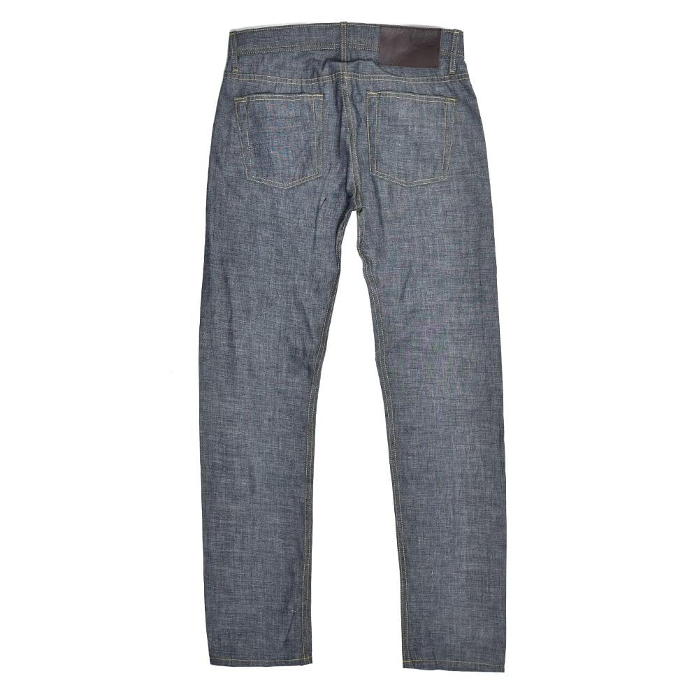 Naked & Famous Denim Naked And Famous Weird Guy Light Indigo Chambray Jeans in Blue for Men