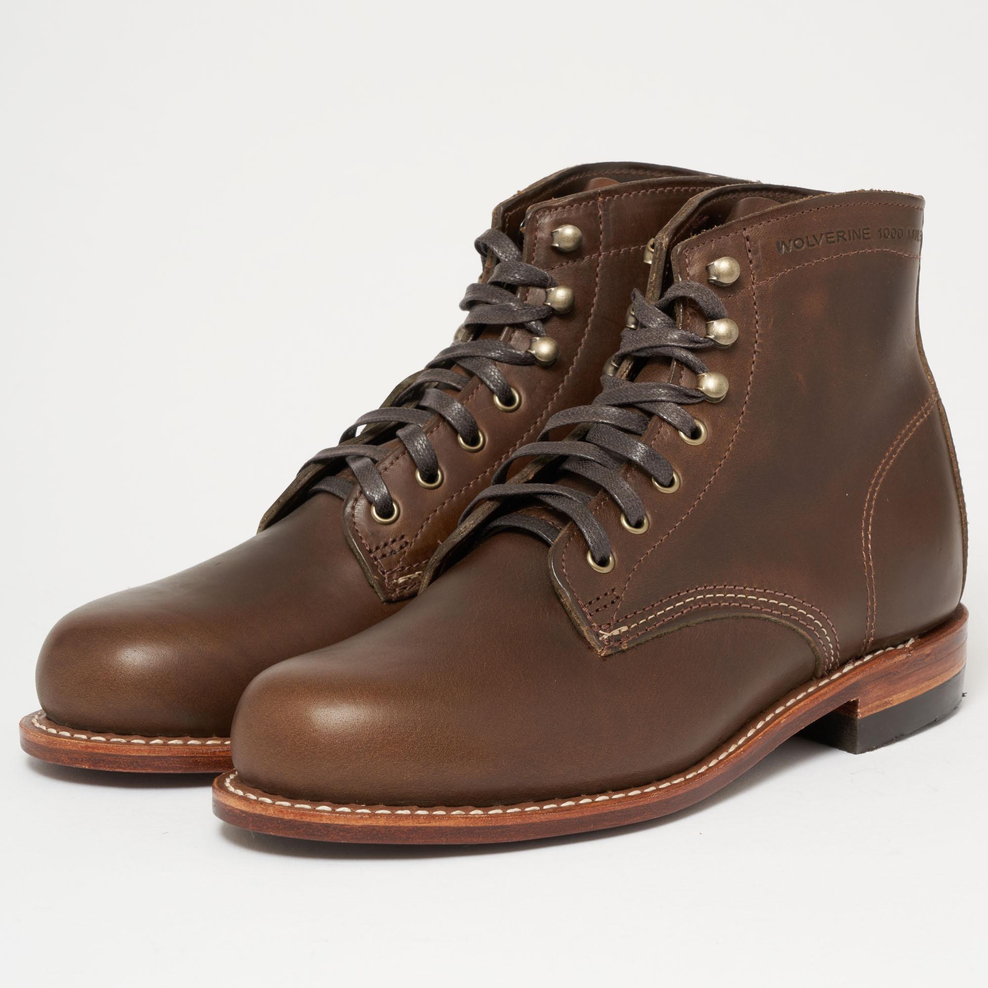 cba74ceb687 Men's Original 1000 Mile Boot - Olive Brown