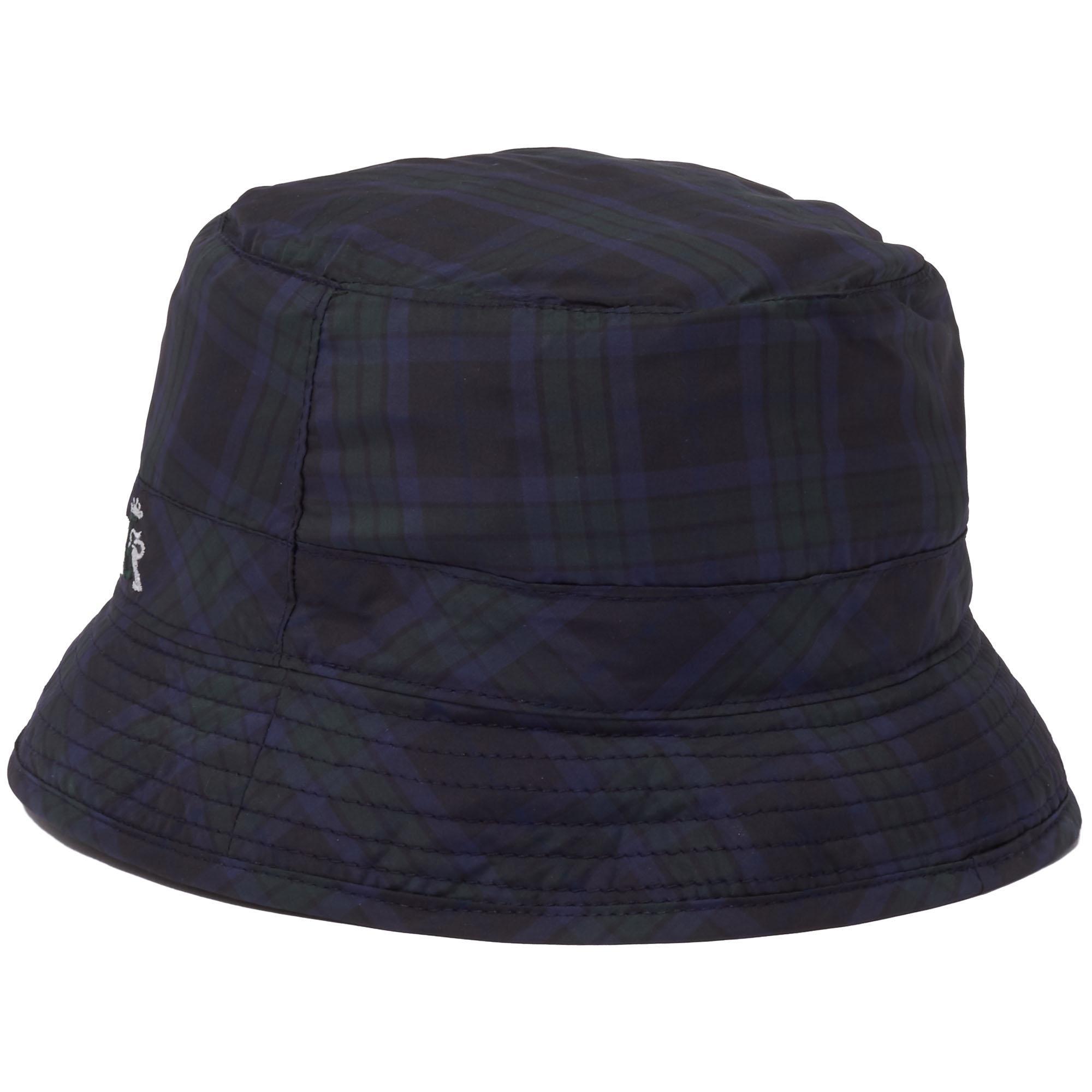 fc5d17a8338f3 Baracuta Blackwatch Light Bucket Hat in Blue for Men - Lyst