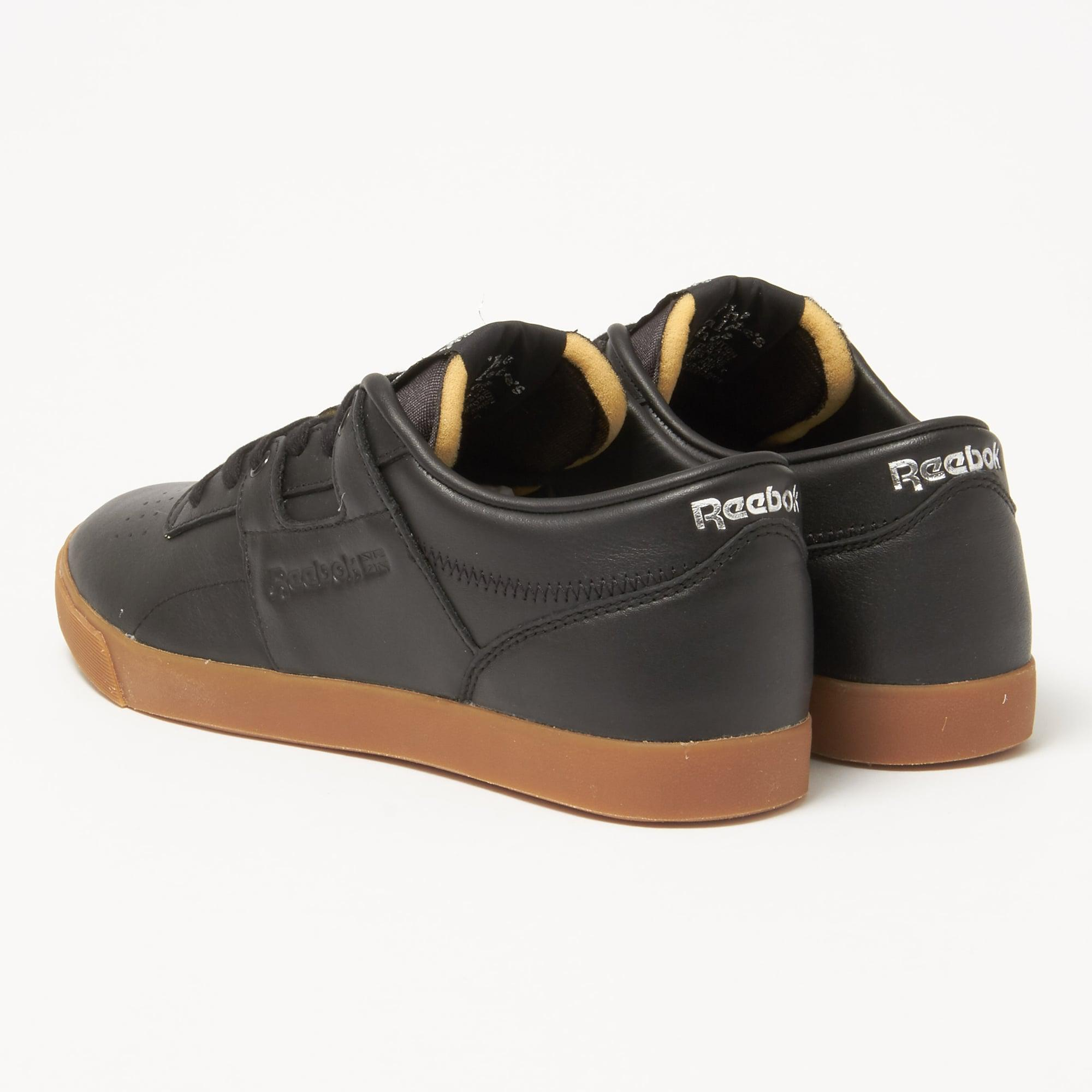 74b64bee4a6 Reebok - Workout Low Clean Fvs Gum Black Sneakers for Men - Lyst. View  fullscreen