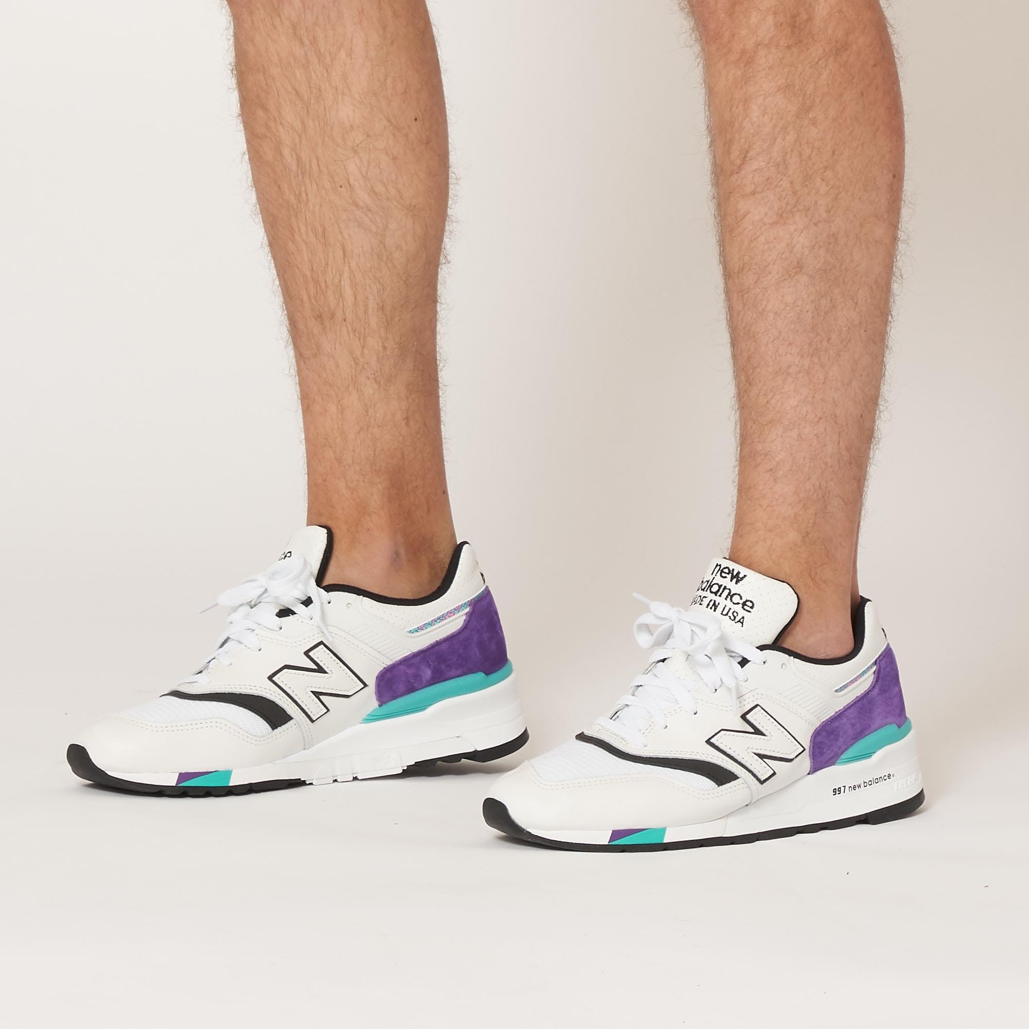 uk purple shoes new balance 997 billig
