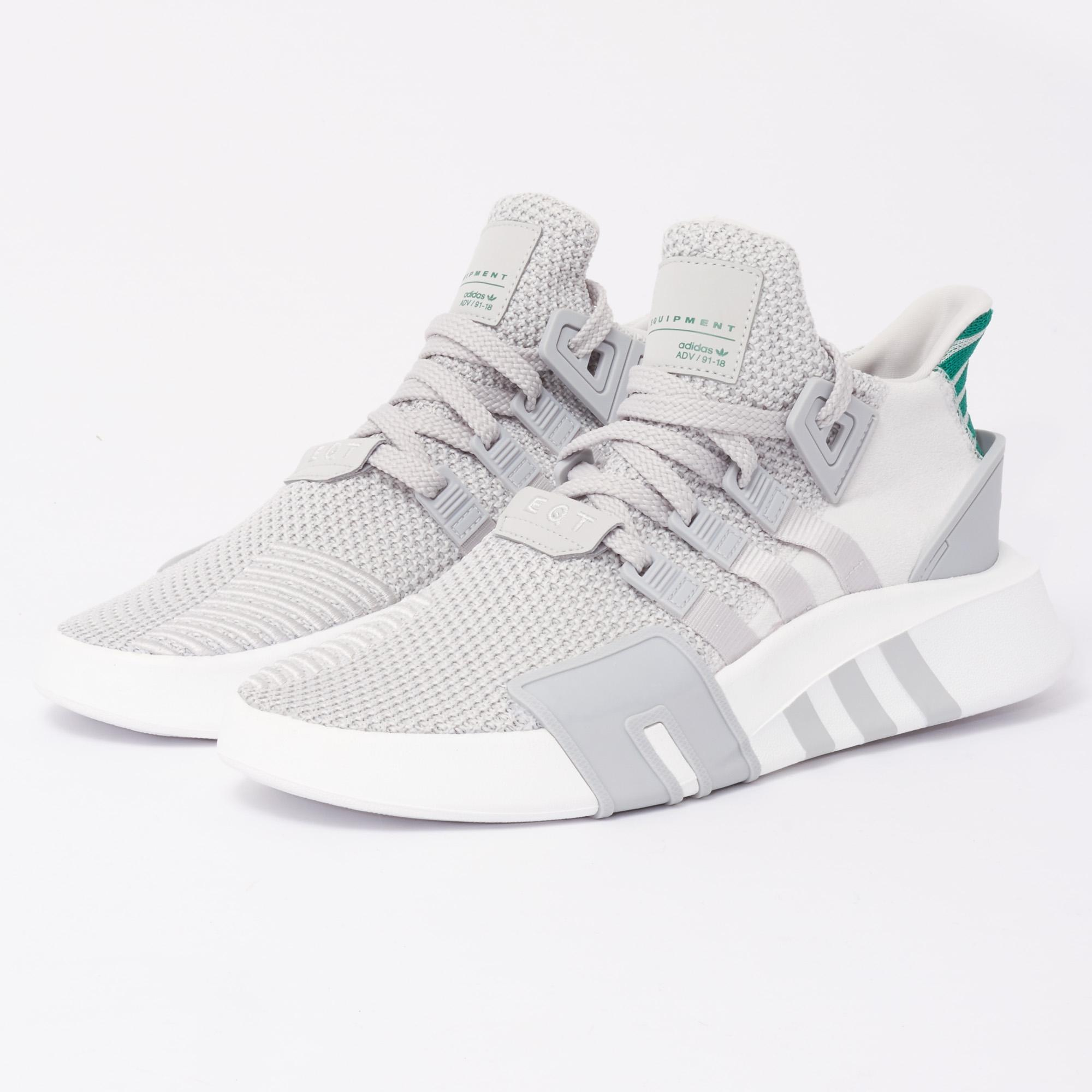 fc9ef60318b adidas Originals Eqt Bask Adv Shoes - Grey in Gray for Men - Lyst