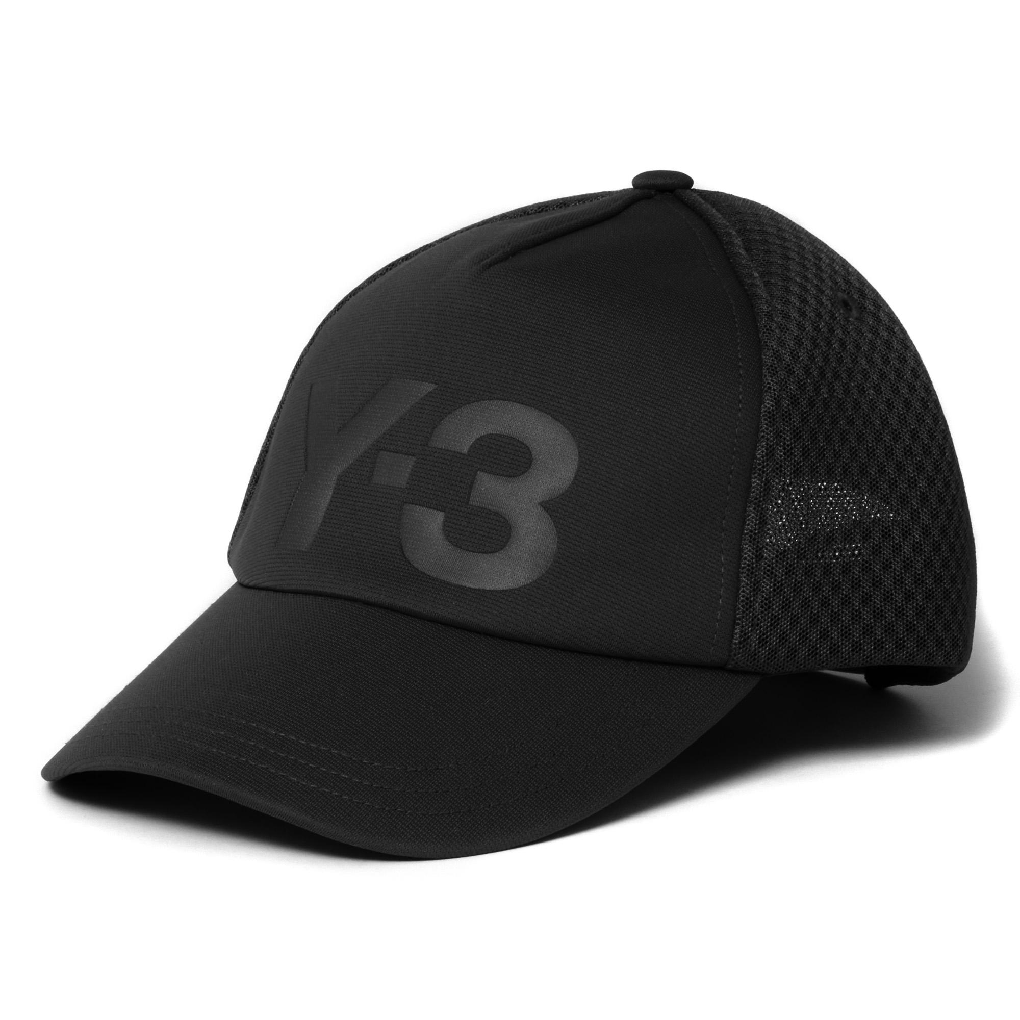 5cb494584 Lyst - Y-3 Black Classic Trucker Cap in Black for Men