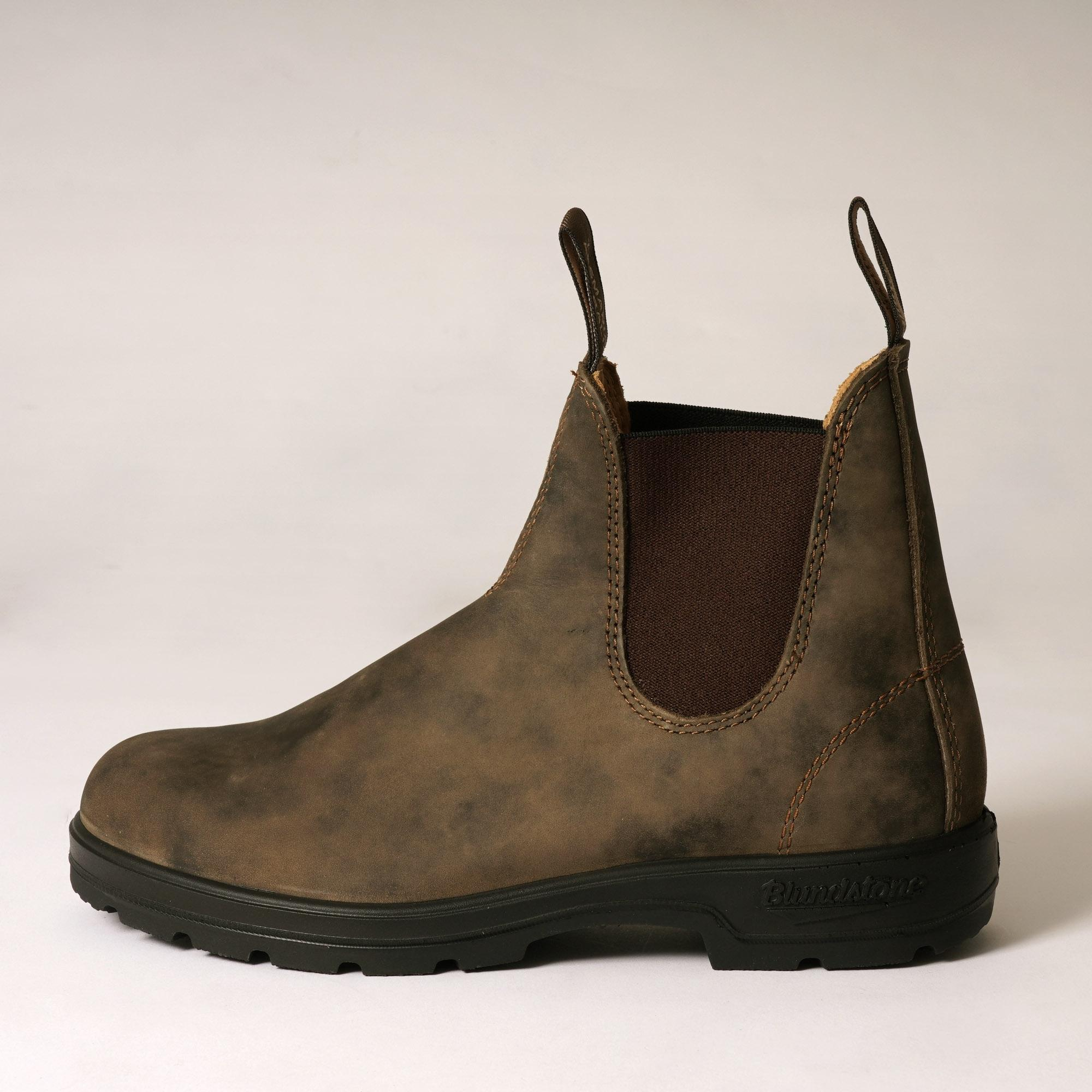 f2fdf615ecb6 Lyst - Blundstone 585 Chelsea Boots - Rustic Brown in Brown for Men