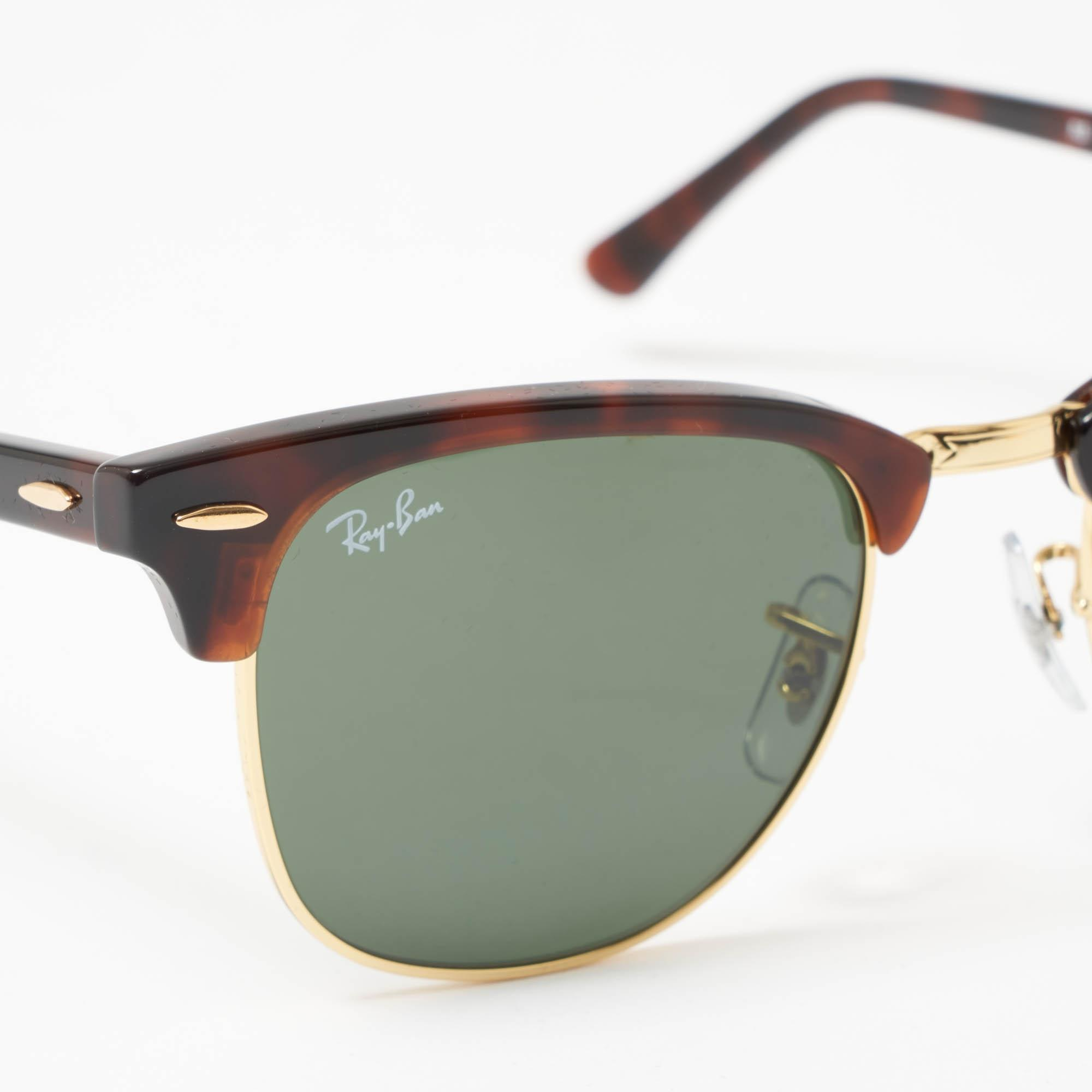 30bce4b996c ... Tortoise Classic Clubmaster Sunglasses - Classic G15 Lenses for Men -.  View fullscreen