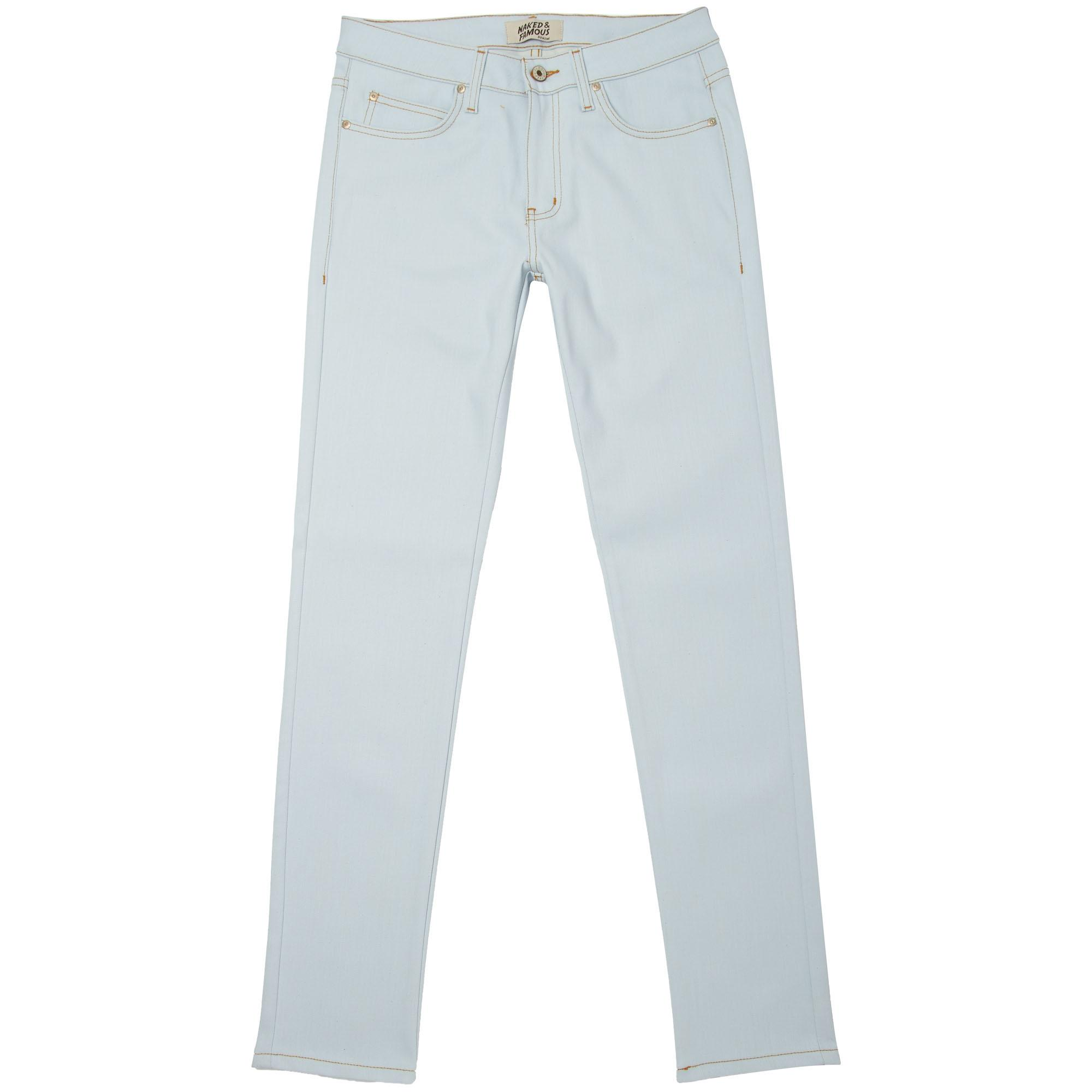 a4414c728 ... Powder Blue Power Stretch Super Skinny Guy Jeans for men. View  fullscreen