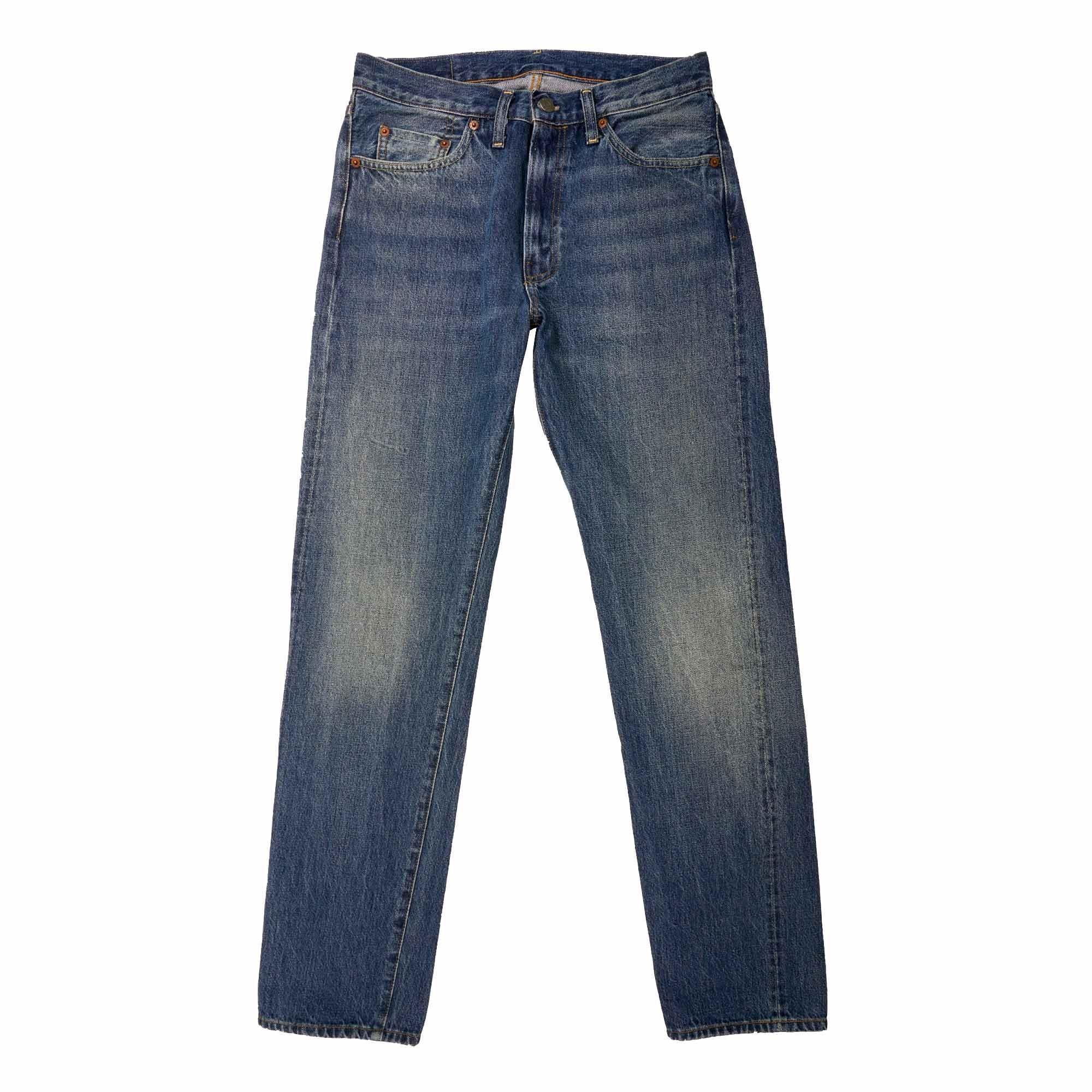 fe9a68232cb Levi s - Blue 1954 501z Selvedge Jeans - Pinwheel for Men - Lyst. View  fullscreen