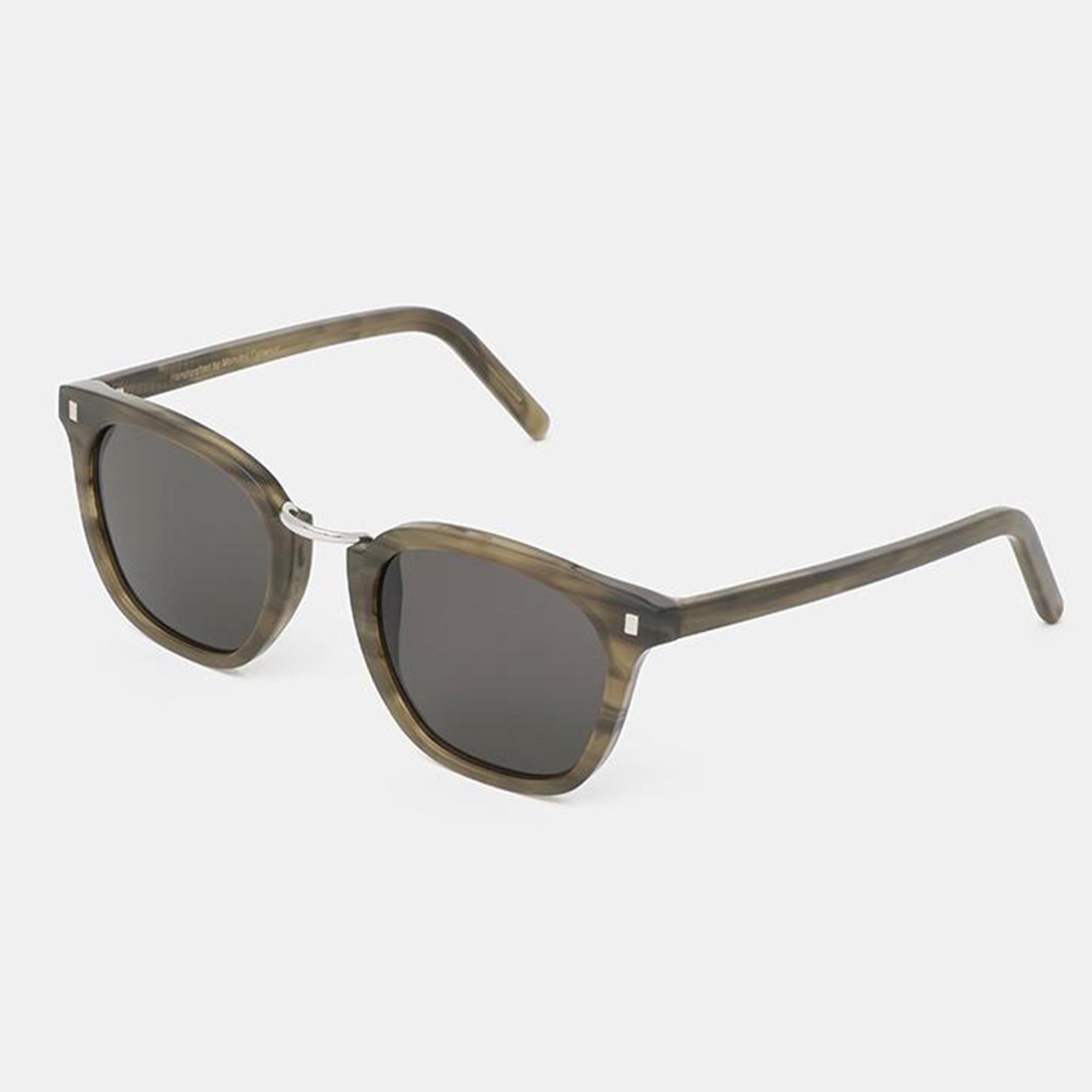 fefe1e415af3e Lyst - Monokel Eyewear Green Demi   Grey Solid Ando Sunglasses in ...