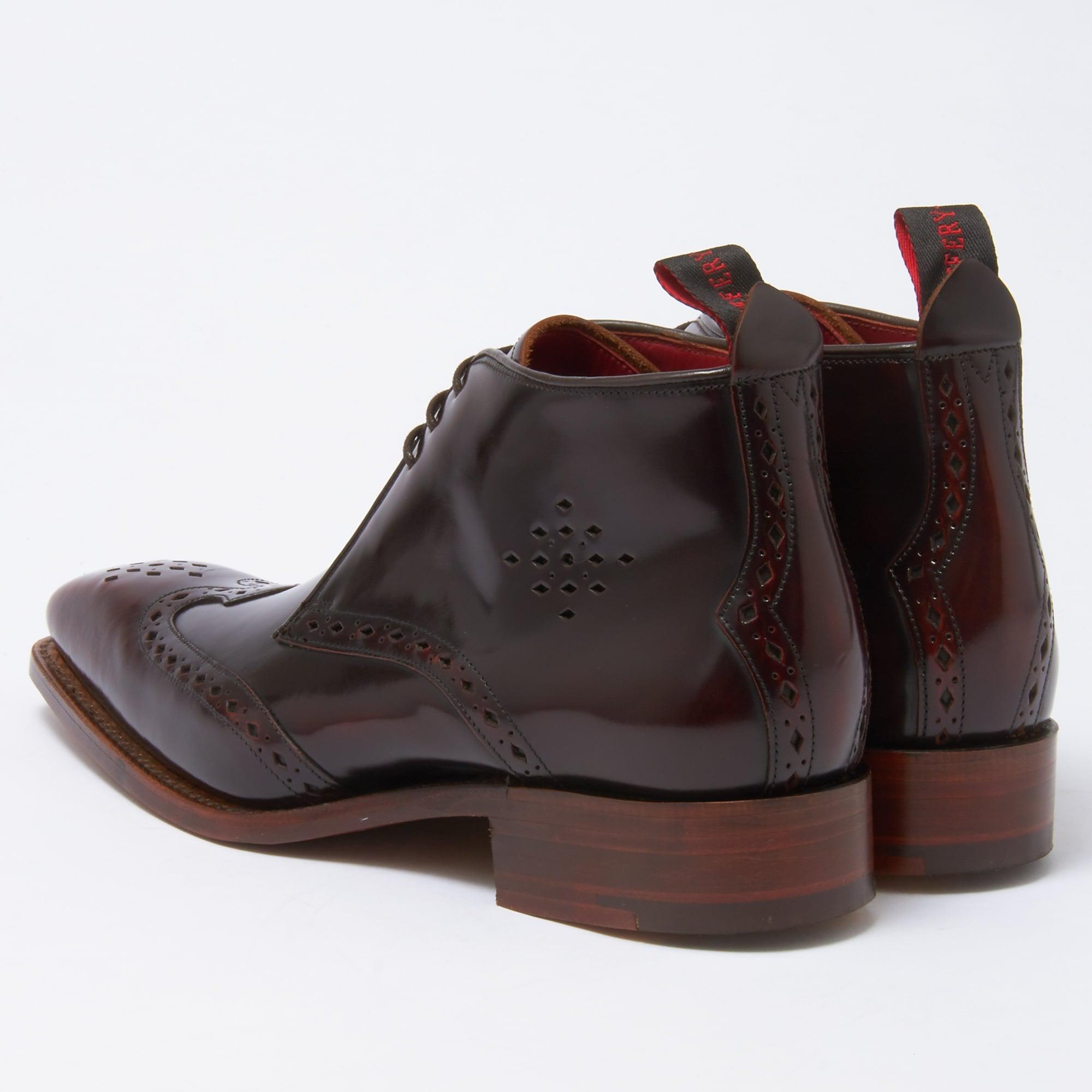 John White Hardy Brogue Shoes Brown