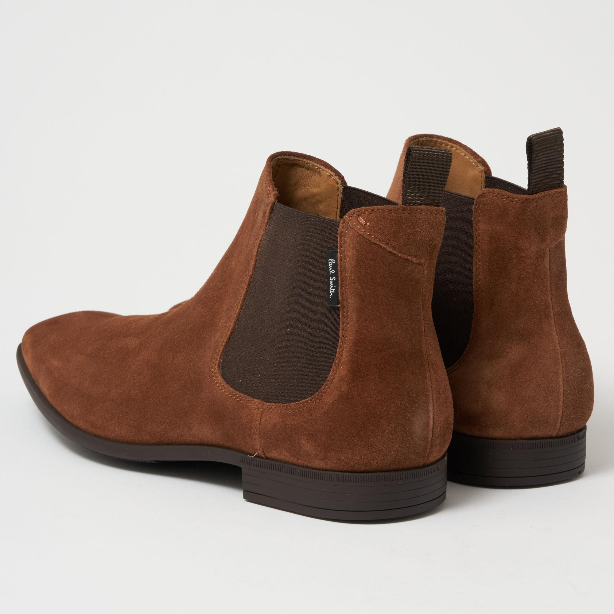 bcd93e8f678 PS by Paul Smith - Brown Falconer Chelsea Boots - Tan for Men - Lyst. View  fullscreen