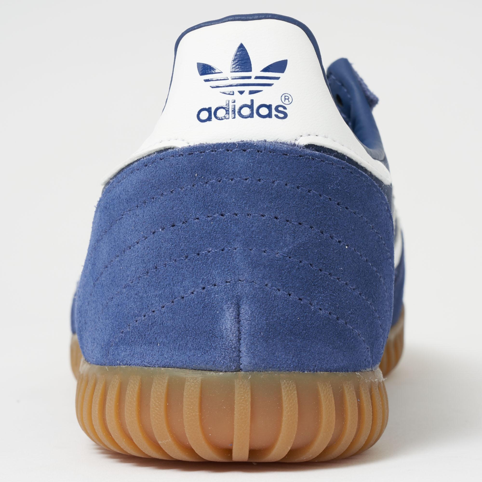 cad8684a9195 adidas Originals Indoor Super - Indigo, Ftw White & Gum in Blue for ...